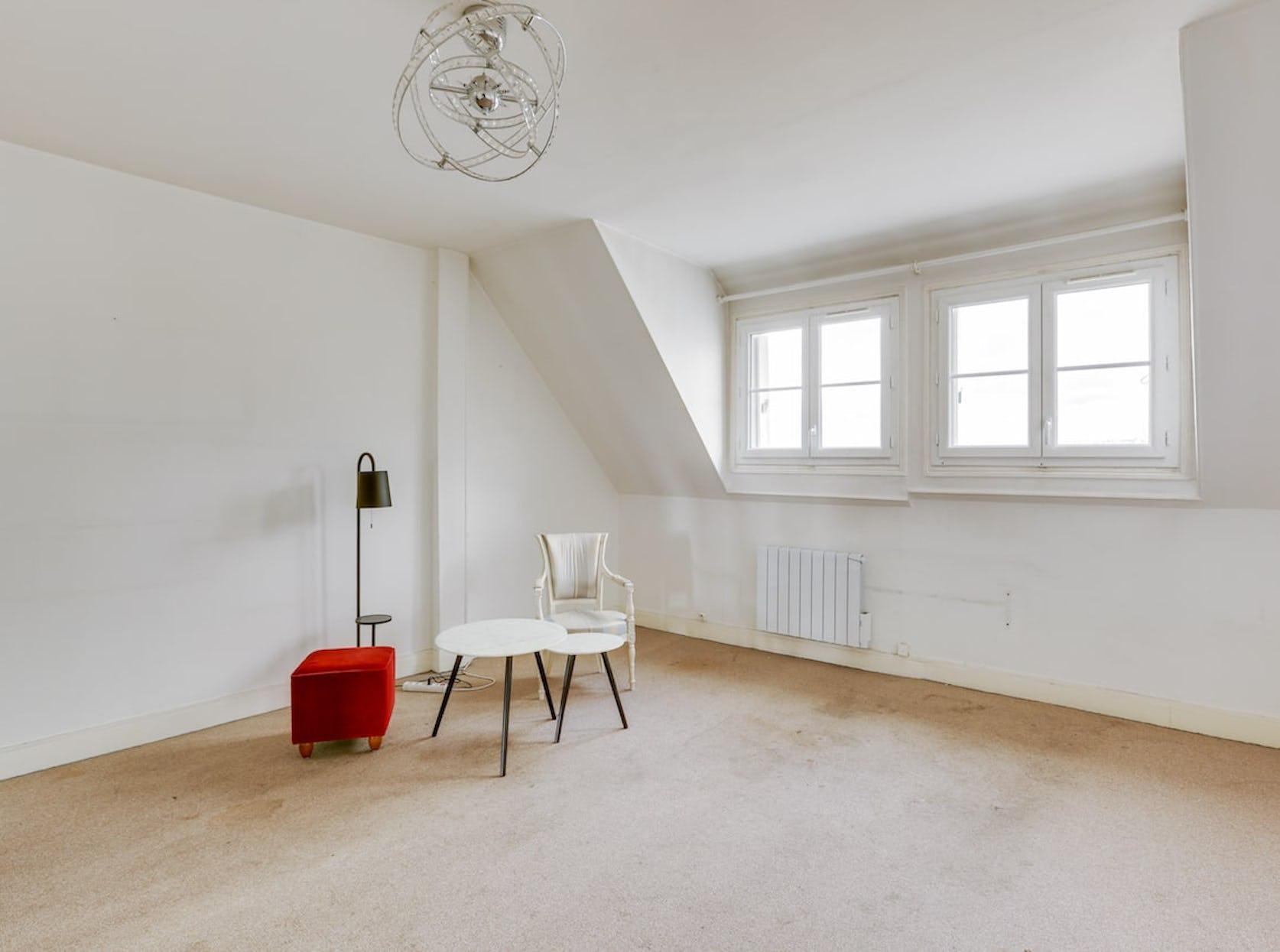 Avant : rénovation appartement