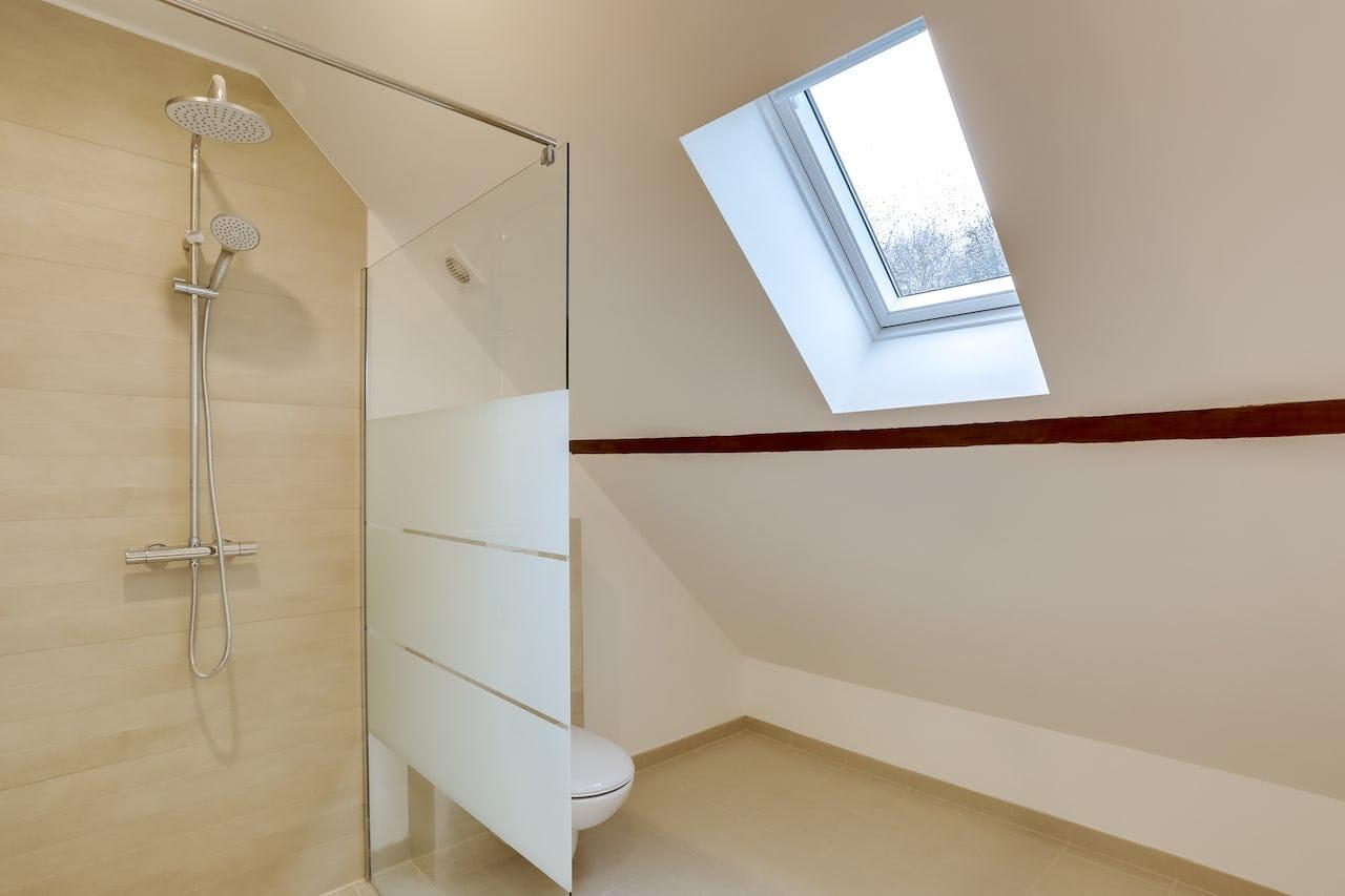 Aménagement comble salle de bain