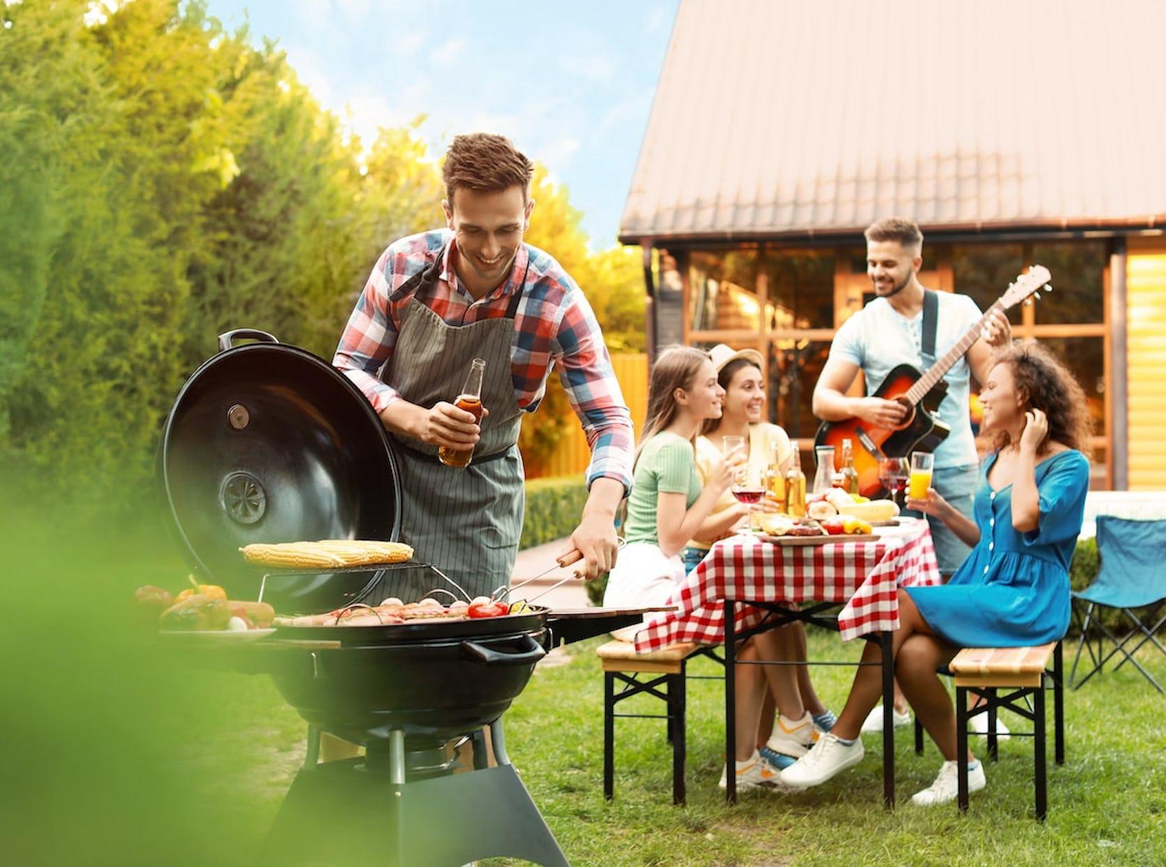 coin barbecue