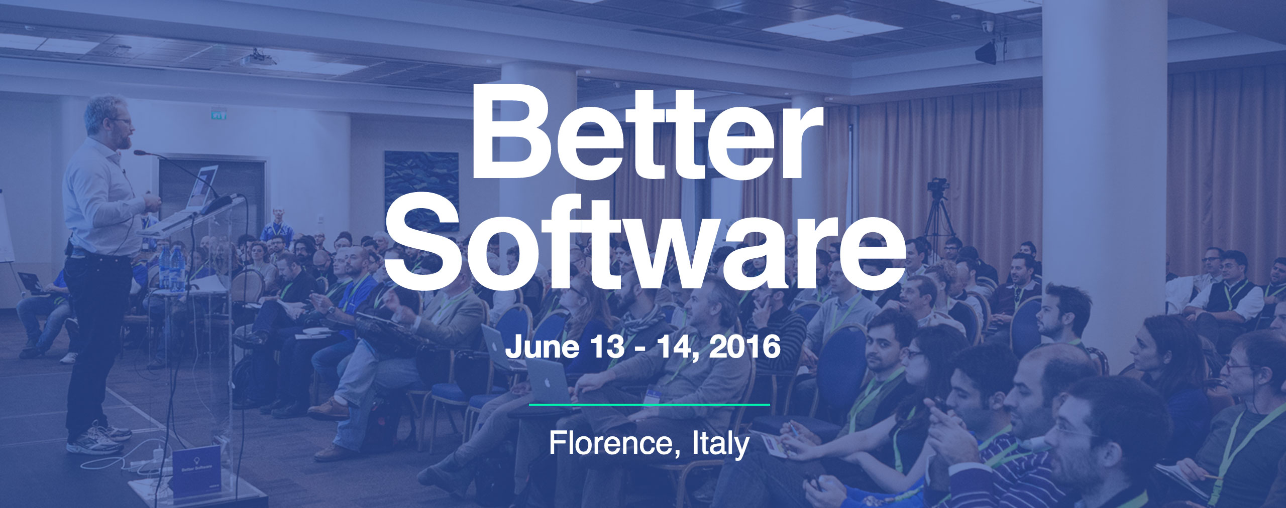 better software conference firenze