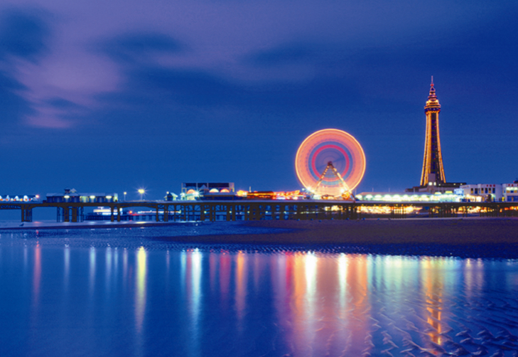 A campaign to take <br> The Blackpool Tower <br> to new heights