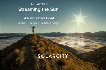 solarZero, Streaming the Sun - a New Grid for Good