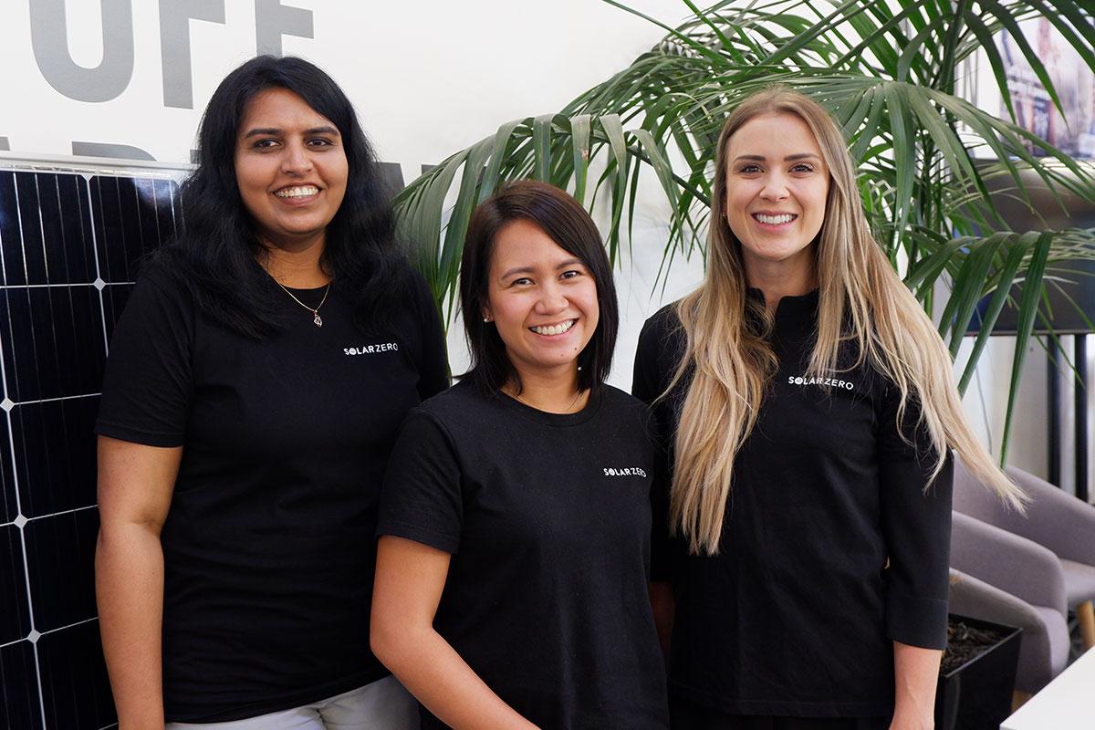 Anusha Pushparajan, Kristine Cruz, Staci Scott