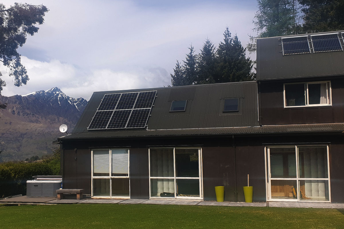 Mike Stewart's Queenstown family home