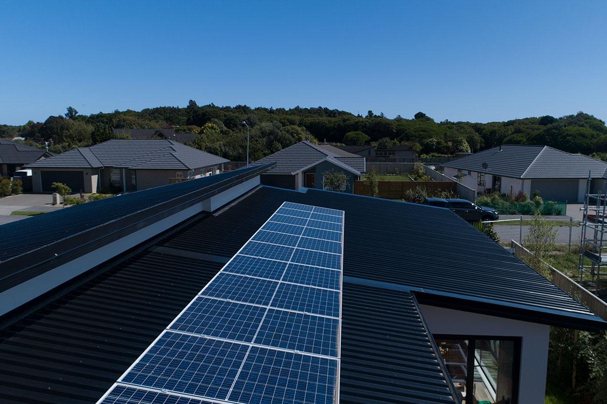 solarZero panels basking in the sun
