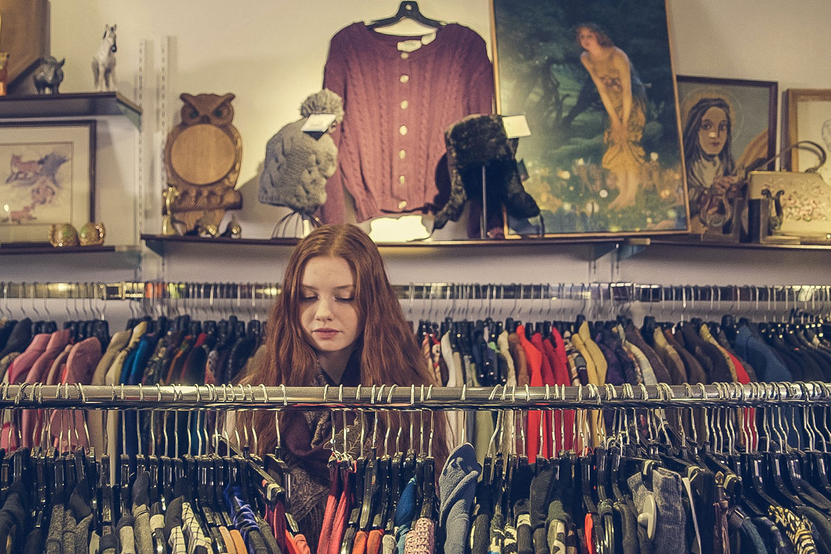 Instead of heading to your local high-street store next time you need a wardrobe update, check out a local second-hand store instead. You never know what you may find!