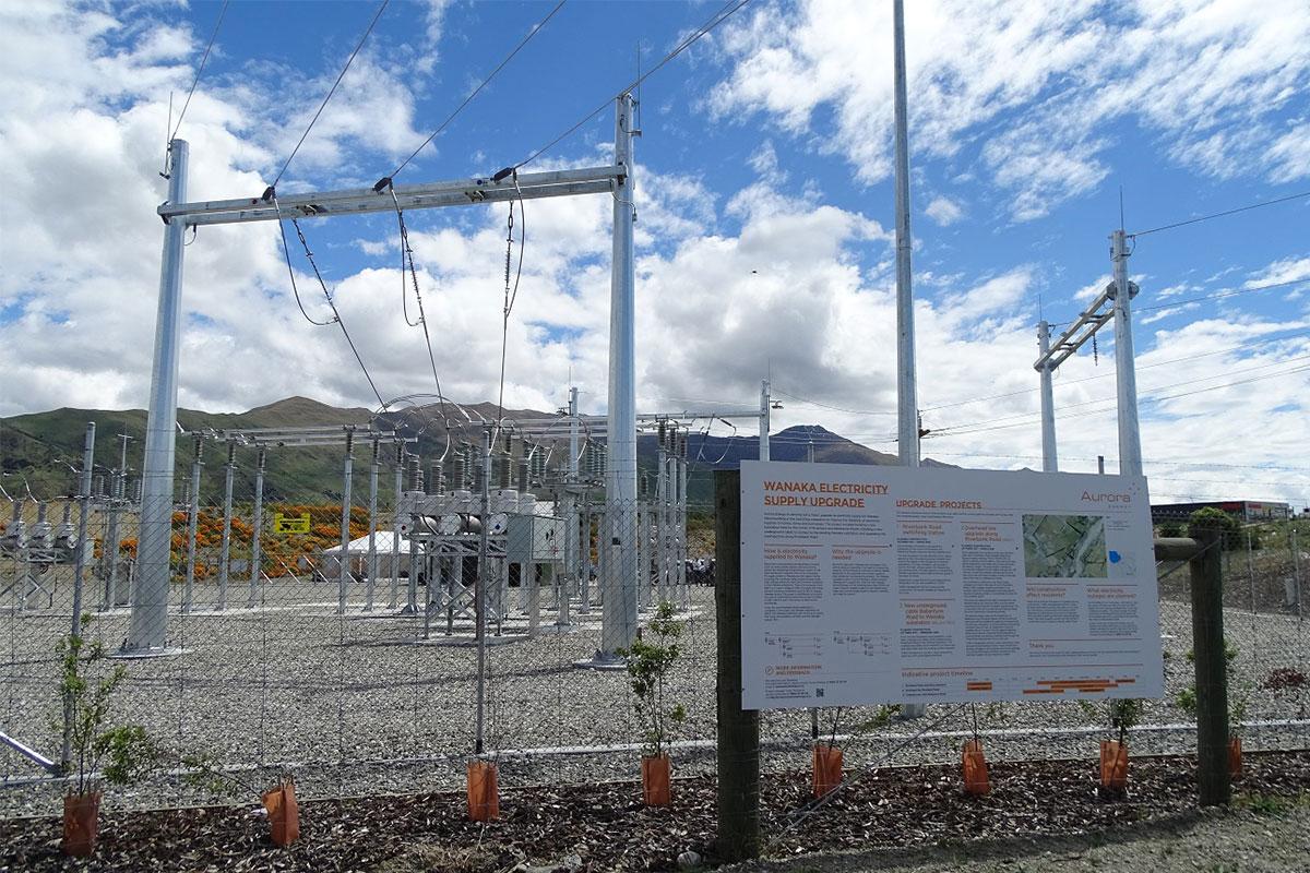 Wanaka Substation