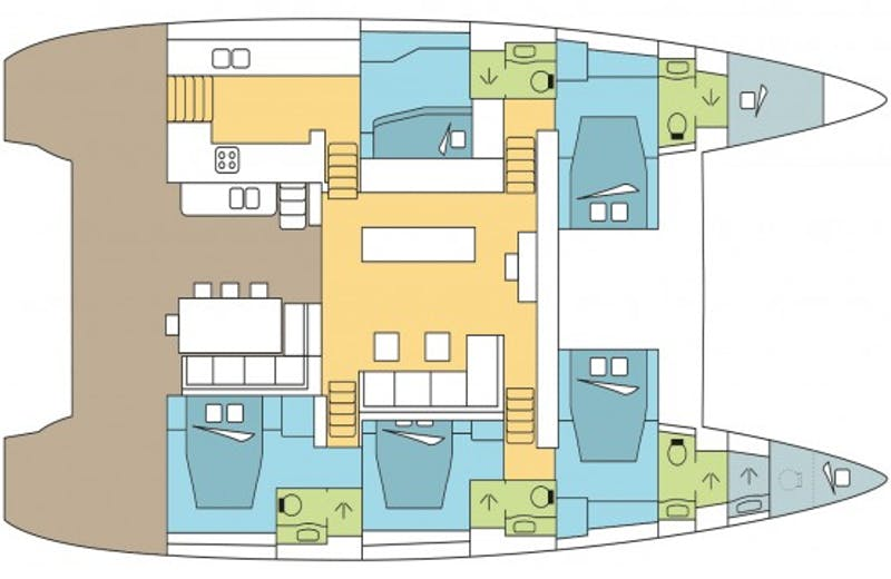 yacht floorplan