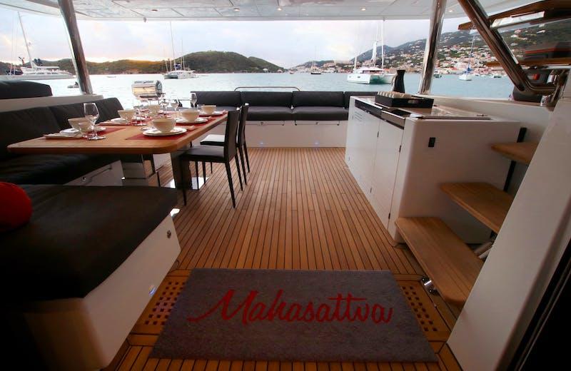 yacht exterior