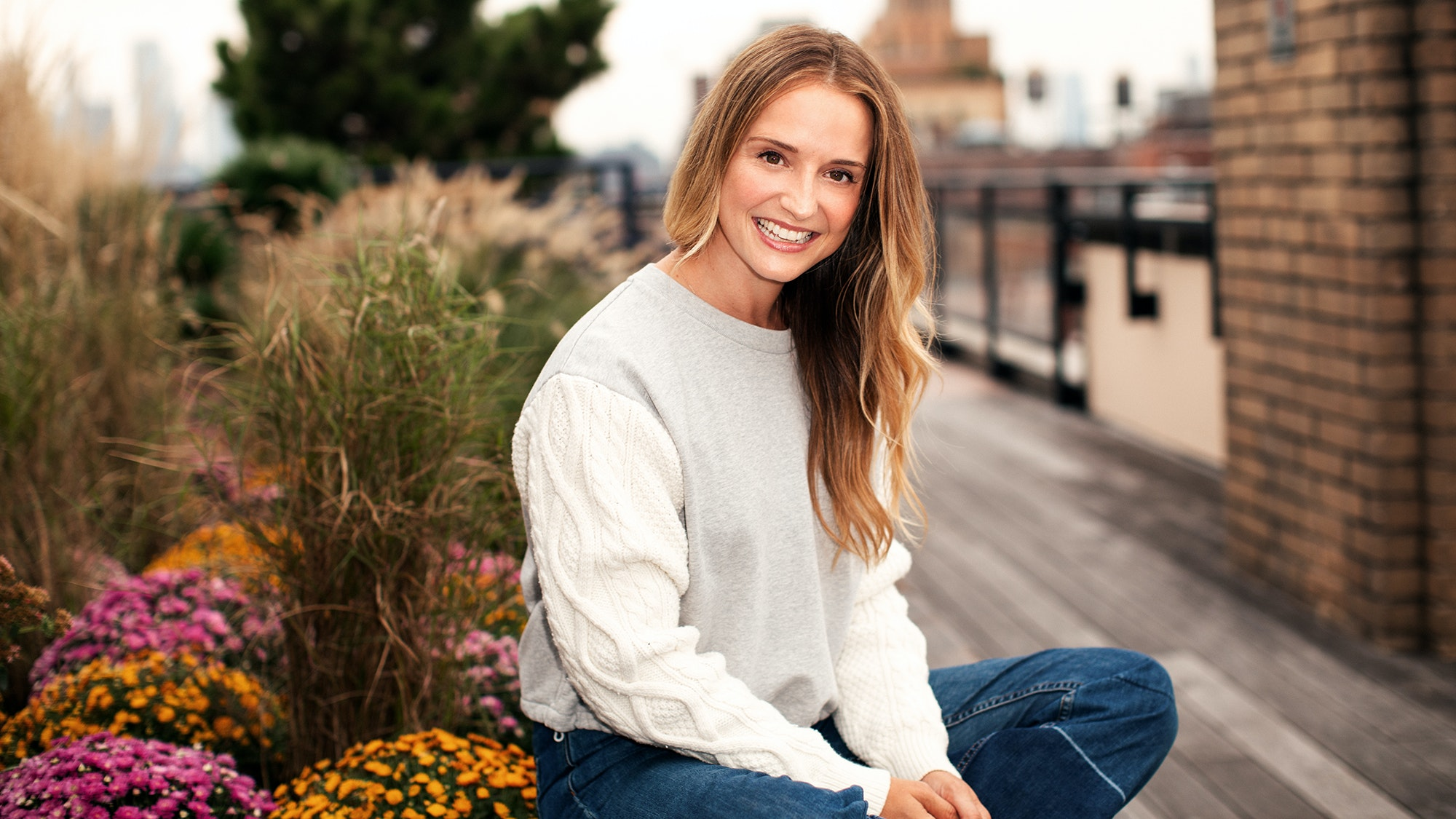 How Leah Wyar's Skin Looks Like This as a 40-Year-Old Working Mom