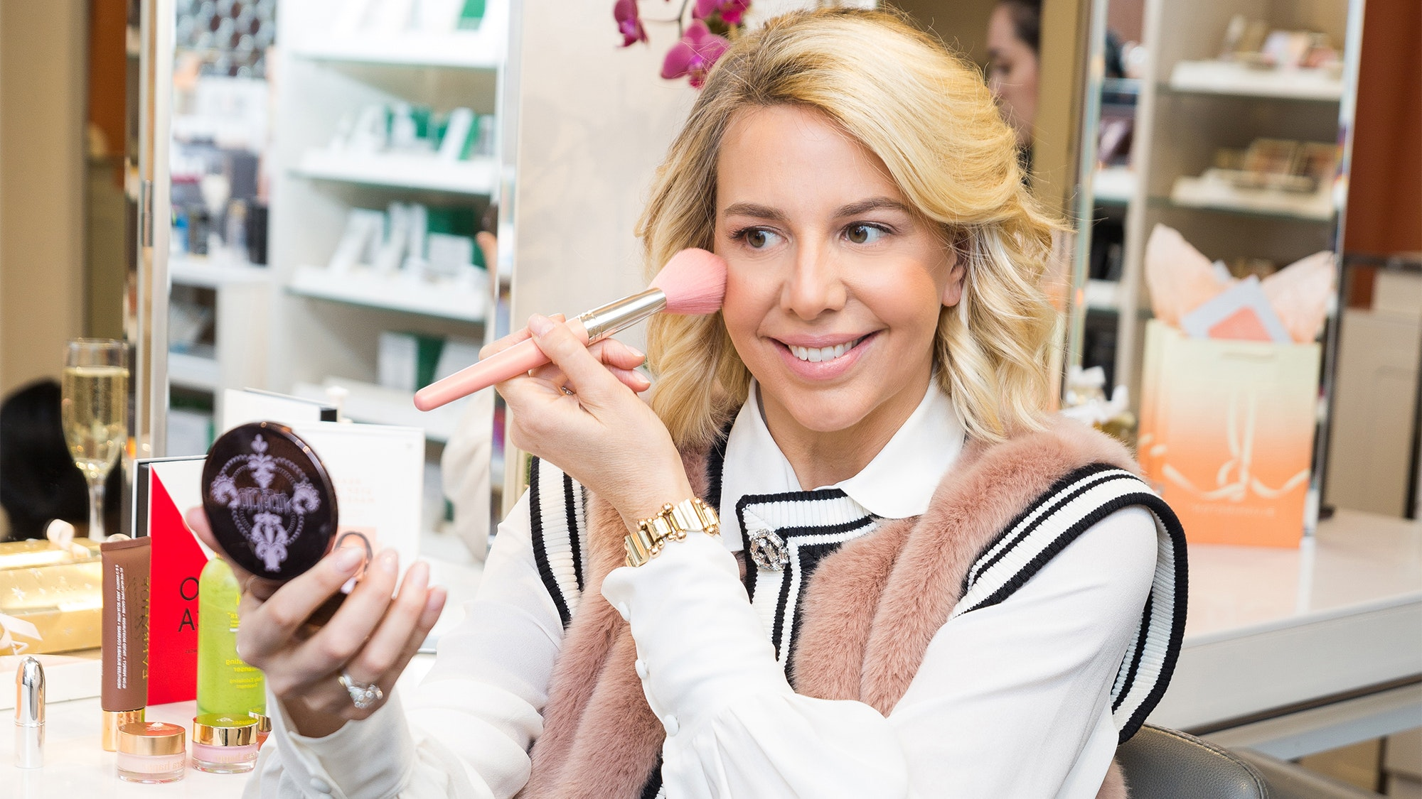 How Blushington CEO Natasha Cornstein Transitioned From a Career In Politics to Beauty