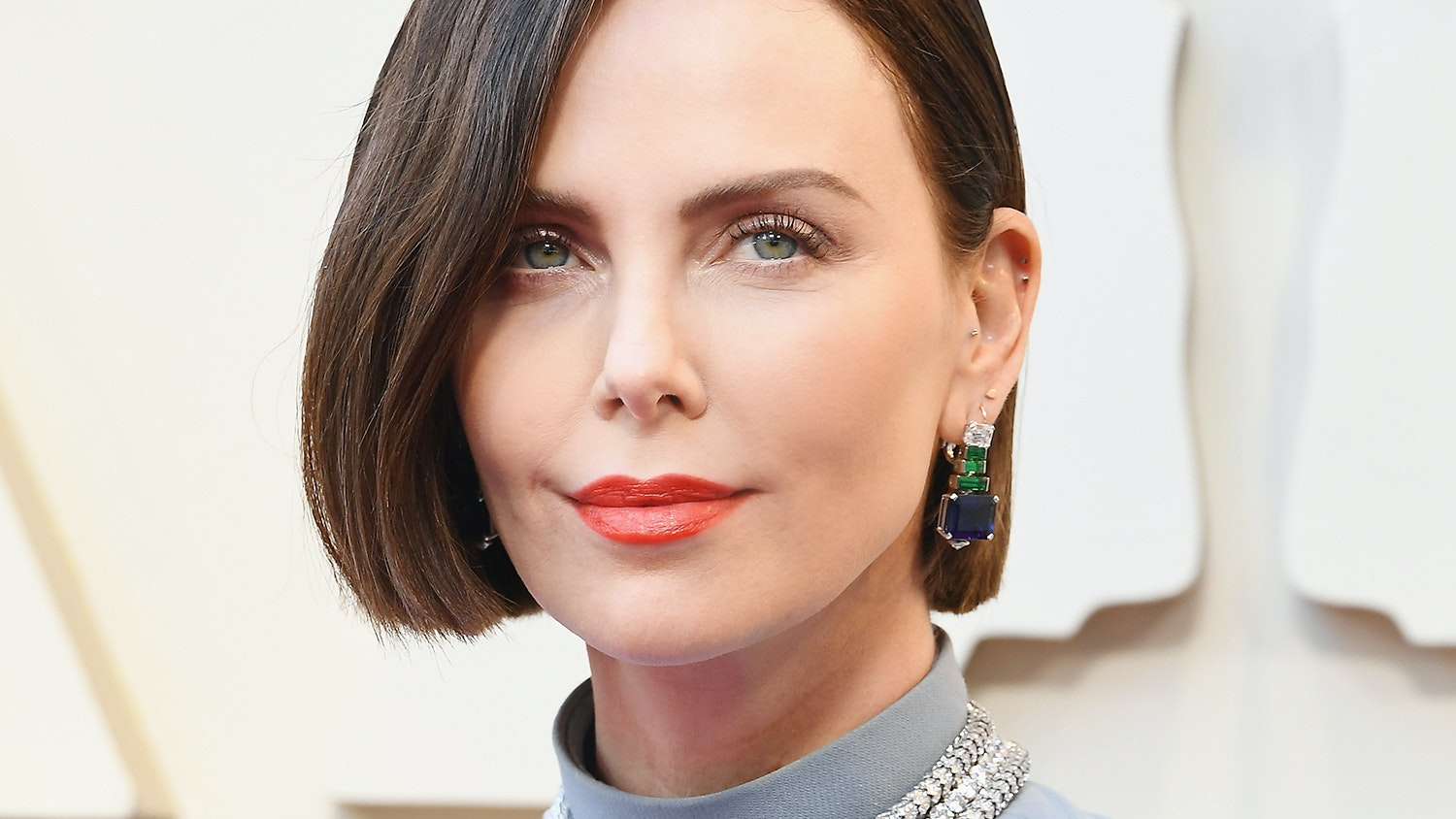 Charlize Theron Just Chopped Off All Her Hair and Dyed It For the Academy Awards