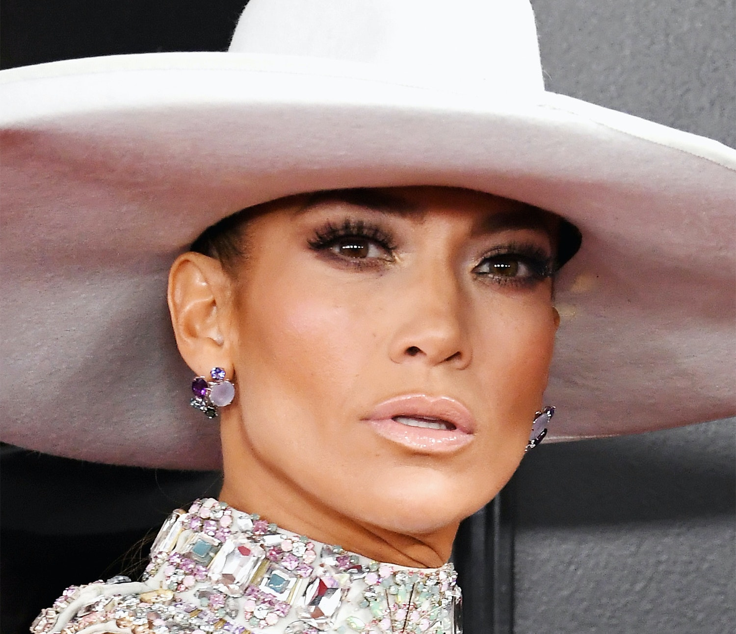 Jennifer Lopez's GRAMMYs Ponytail Is Longer Than a List of Her Hit Records