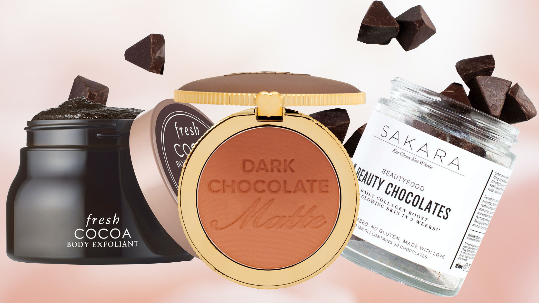 Forget Boxes of Valentine's Day Chocolate — Try These Cocoa-Infused Beauty Products Instead