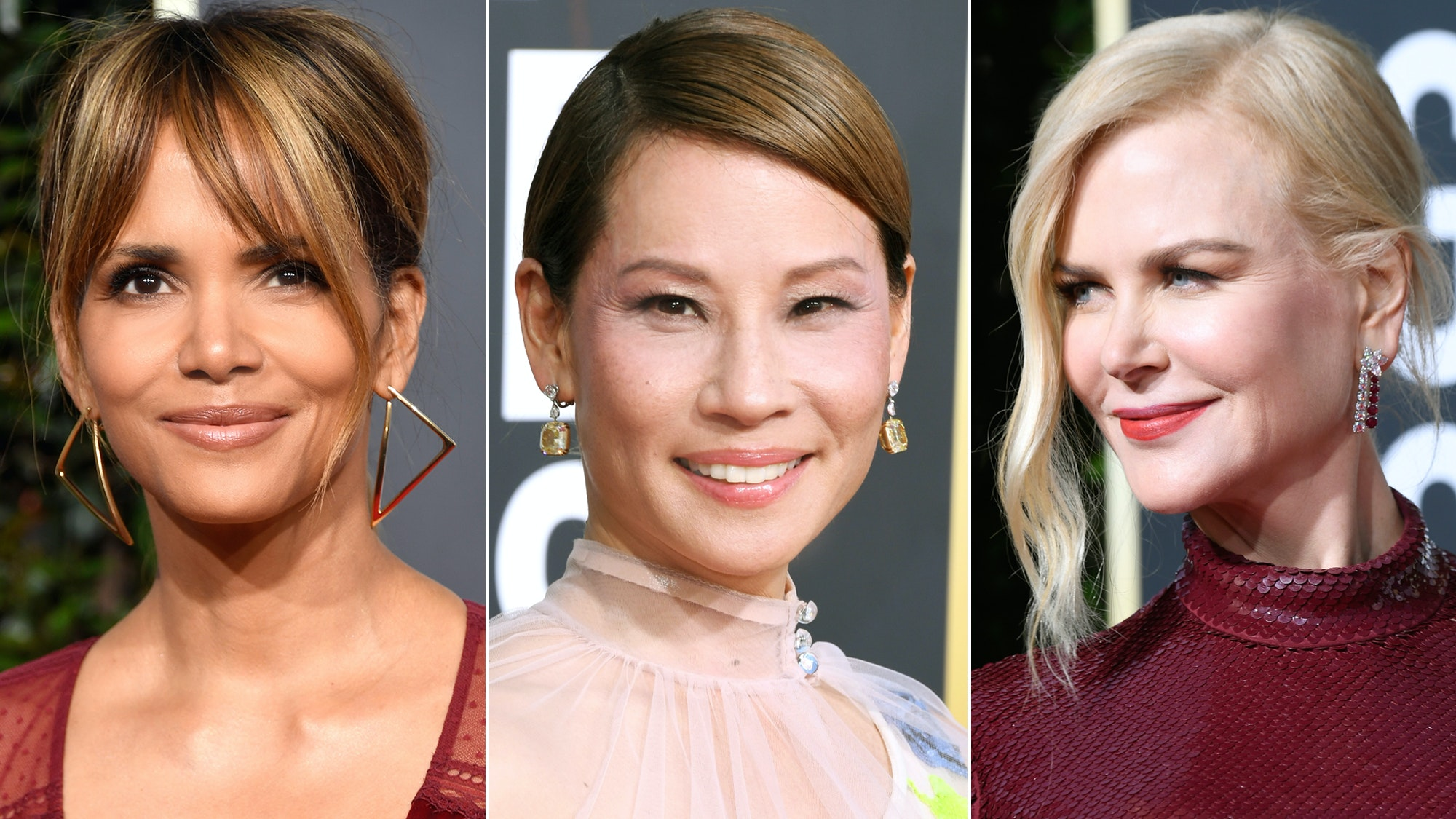 Hollywood Royalty Over 50 Who Had Stunning Hair, Makeup, and Skin at the 2019 Golden Globes