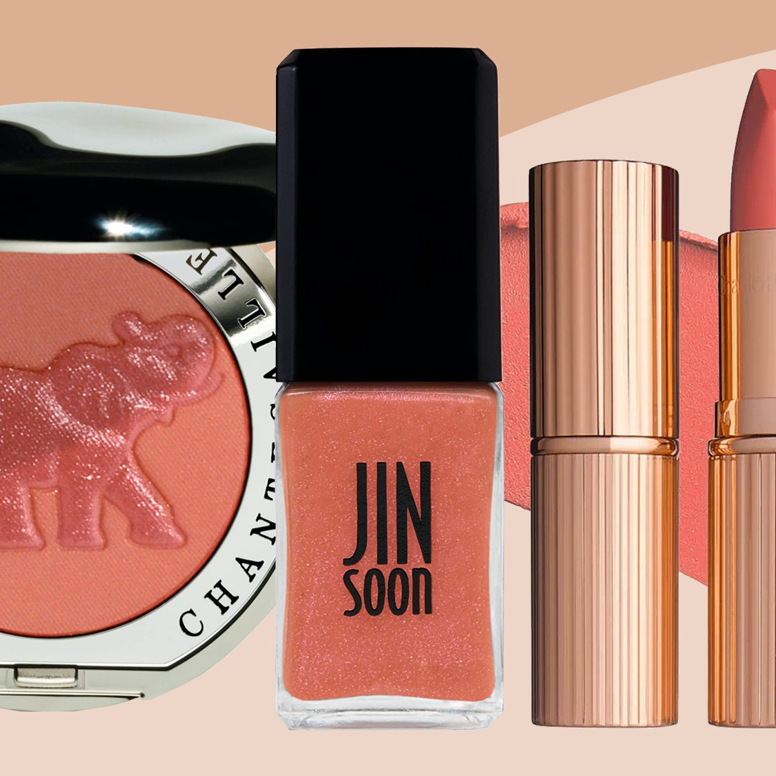 8 Beauty Products That Make It Easy to Wear Living Coral, Pantone's 2019 Color of the Year