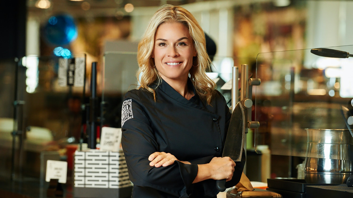 Chef Cat Cora on DIY Face Masks, Olive Oil, and the Importance of Nutrition