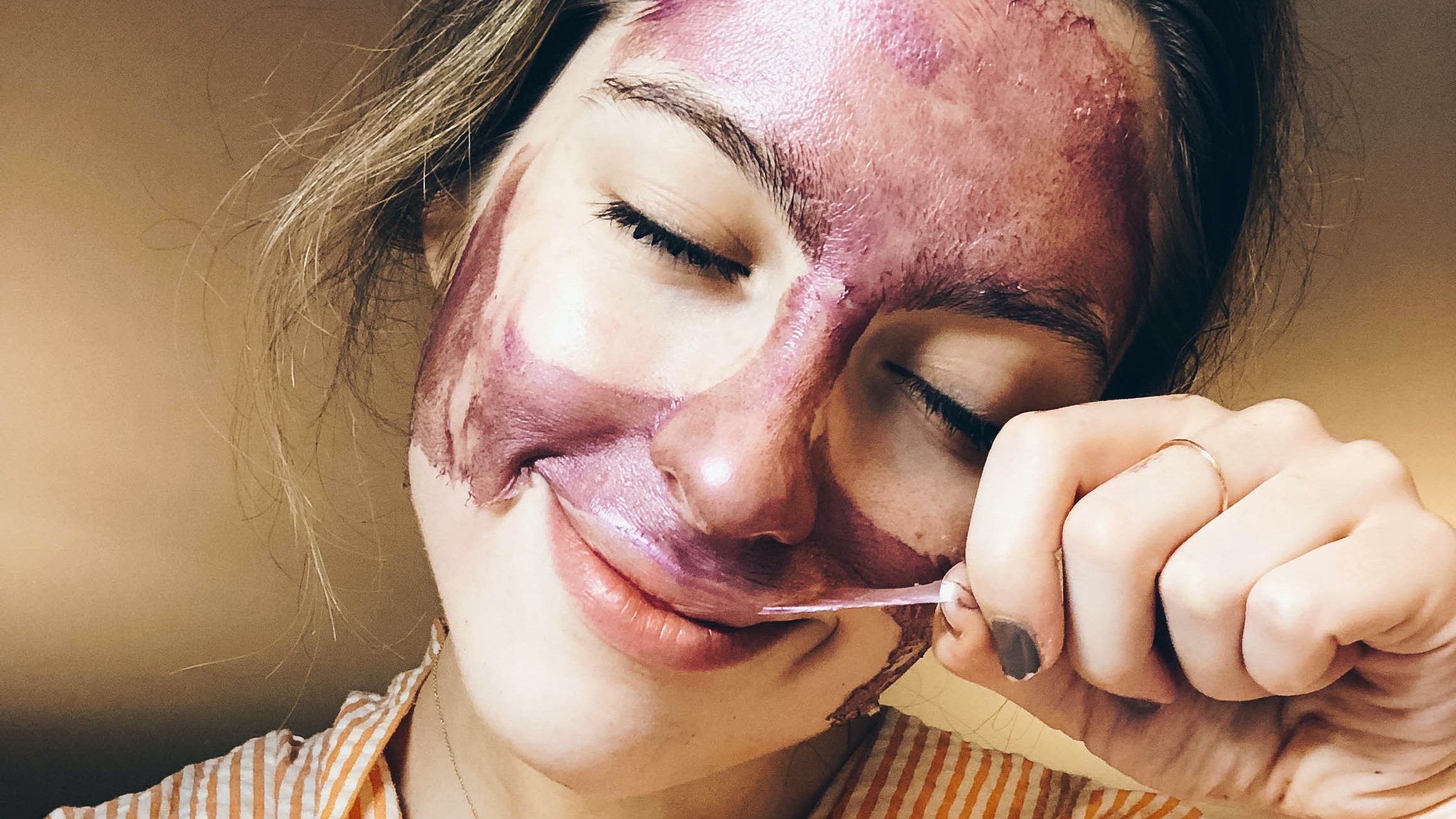 This Pink Peel-Off Mask is The Most Satisfying Skincare Product I've Tried This Year