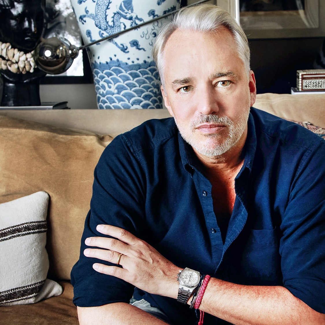 Fashion Designer Michael Bastian Divulges His Grooming, Skincare, and Wellness Routines