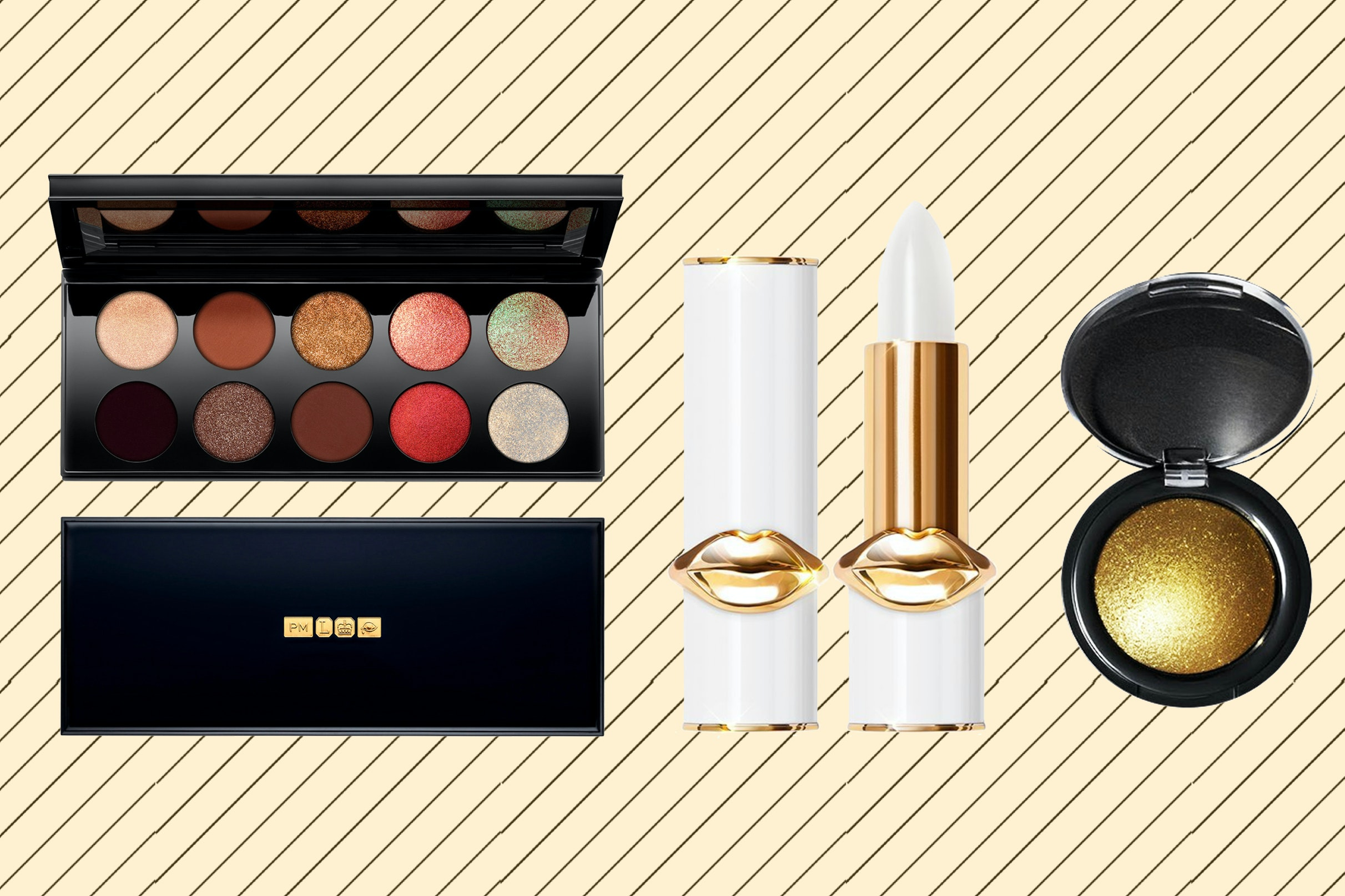 Pat McGrath Thinks We Should All Wear Gold Makeup