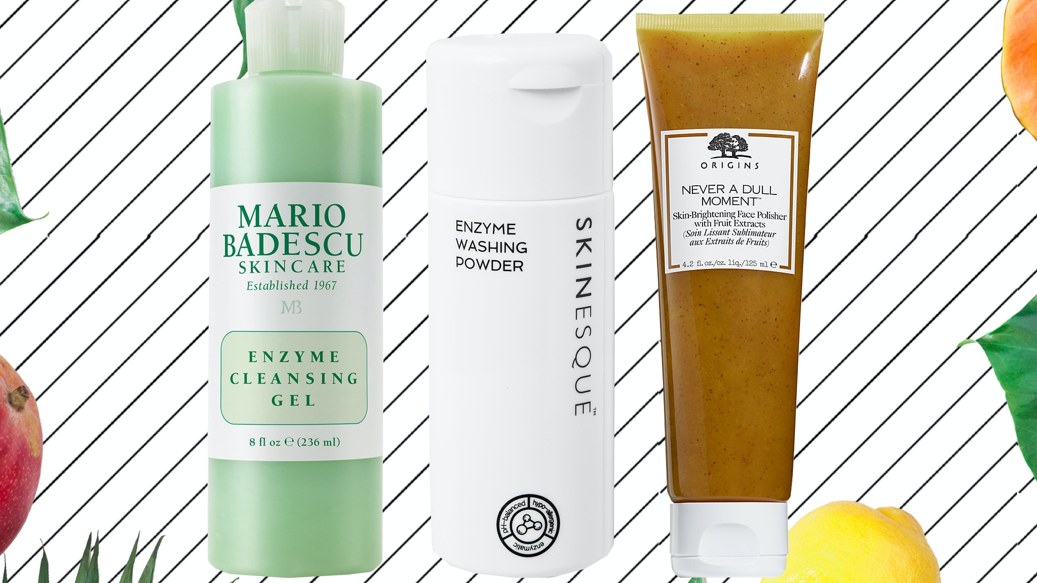 These 7 Fruit Enzyme Based Exfoliators Are Perfect For Sensitive Skin