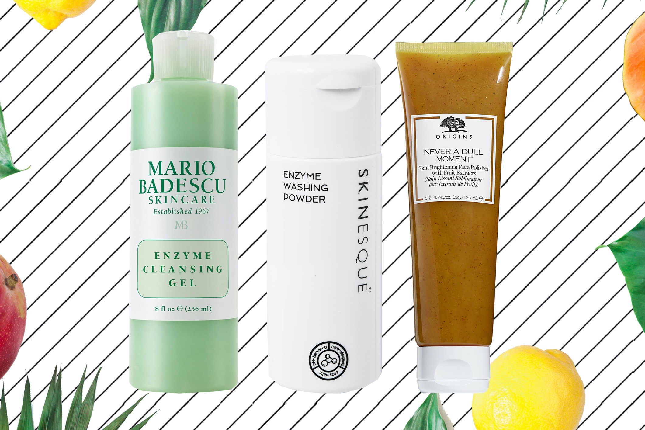 These 7 Fruit Enzyme-Based Exfoliators Are Perfect for Sensitive Skin