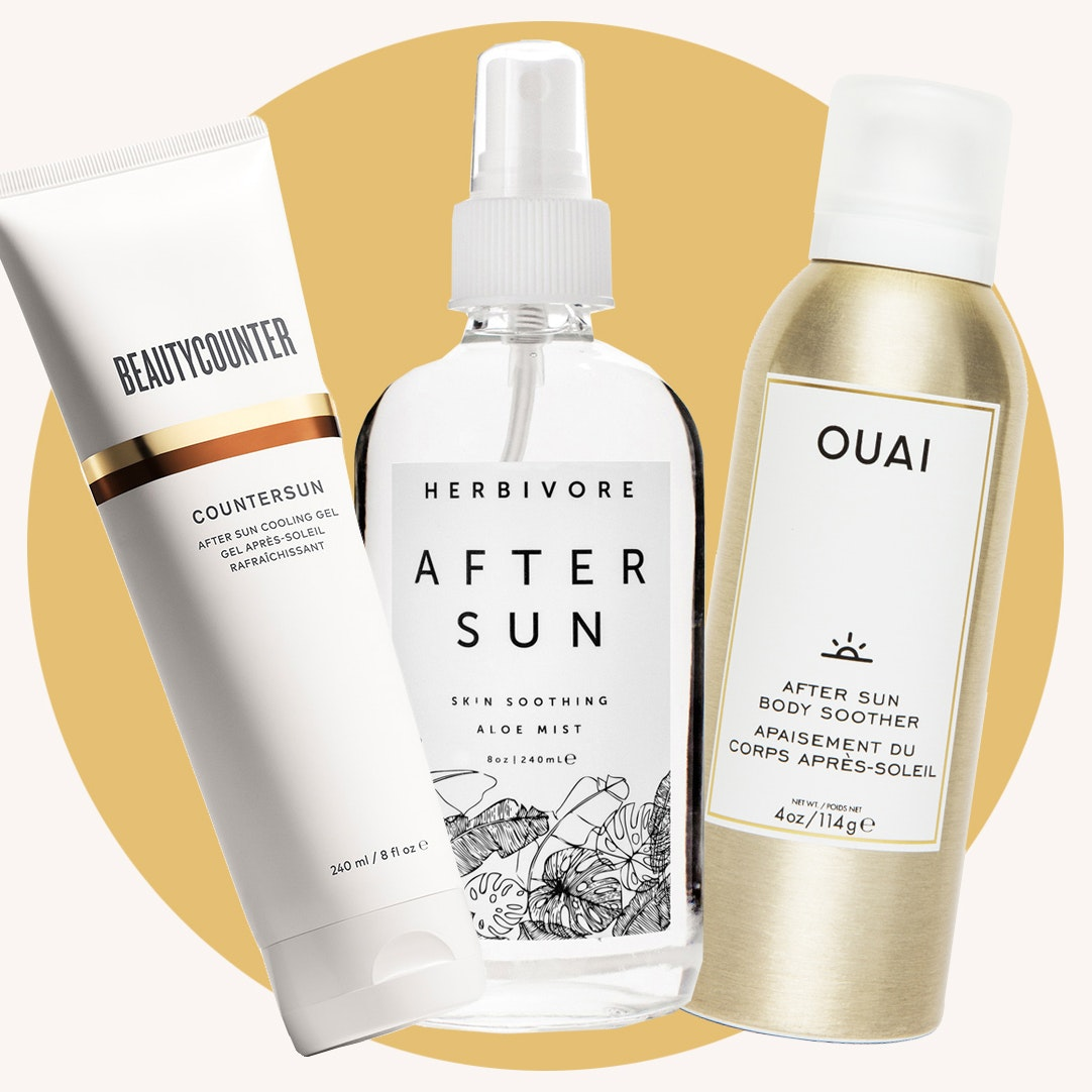 7 Products To Slather On When You've Had a Bit Too Much Sun