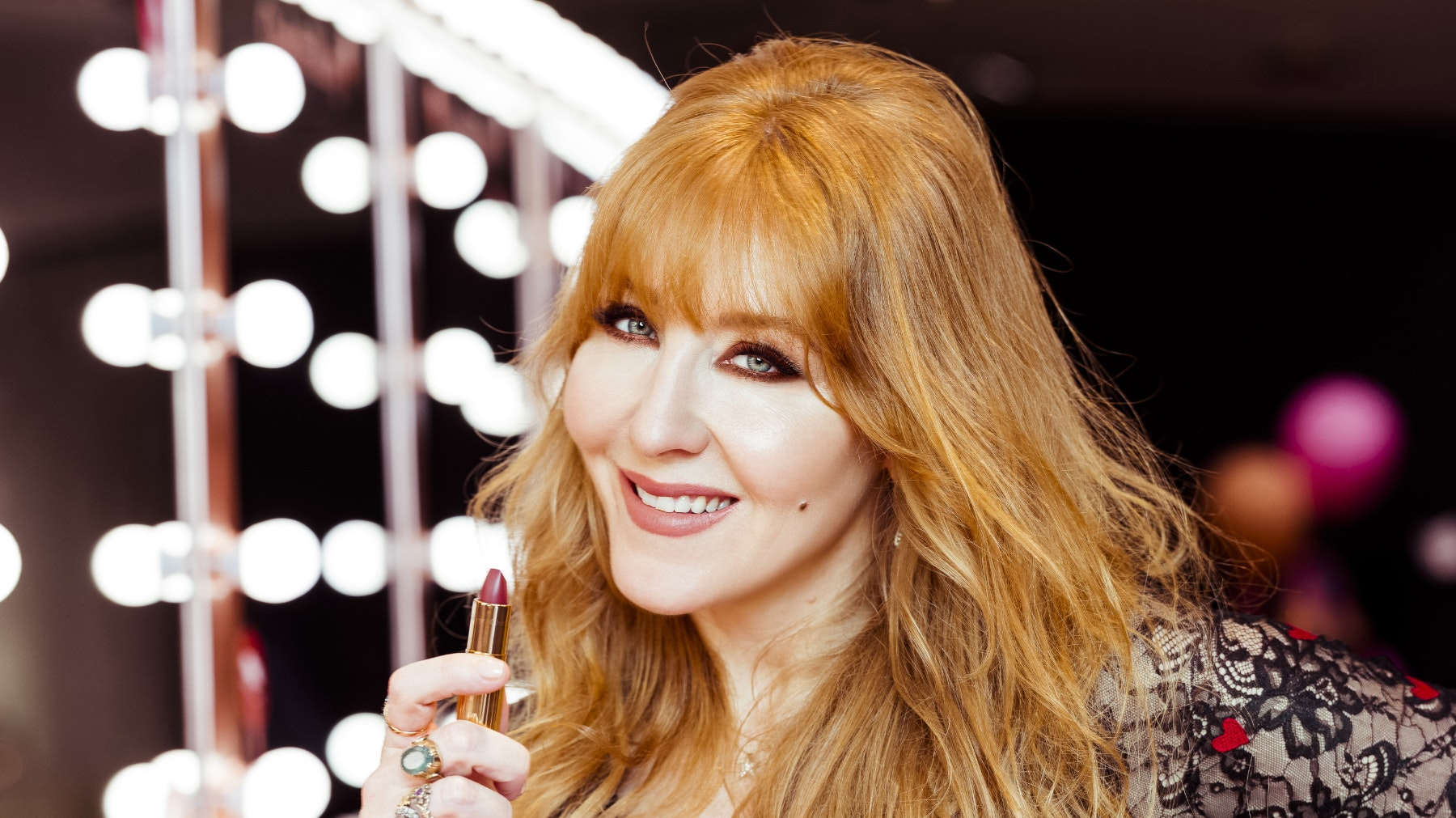 "Charlotte Tilbury on ""The Psychology of Makeup"""