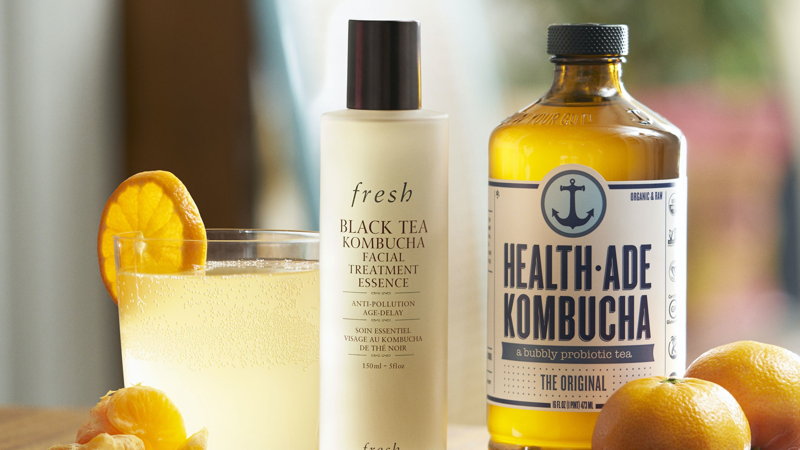 Why Kombucha-Infused Skincare Is Trending in the Beauty World