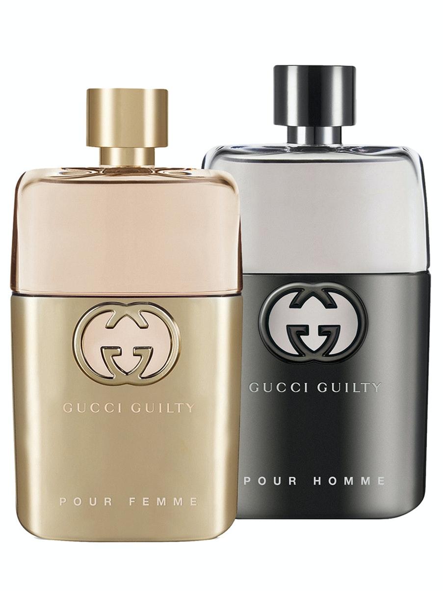 Gucci Guilty™ Pour Femme ($92) and Gucci Guilty Pour Homme