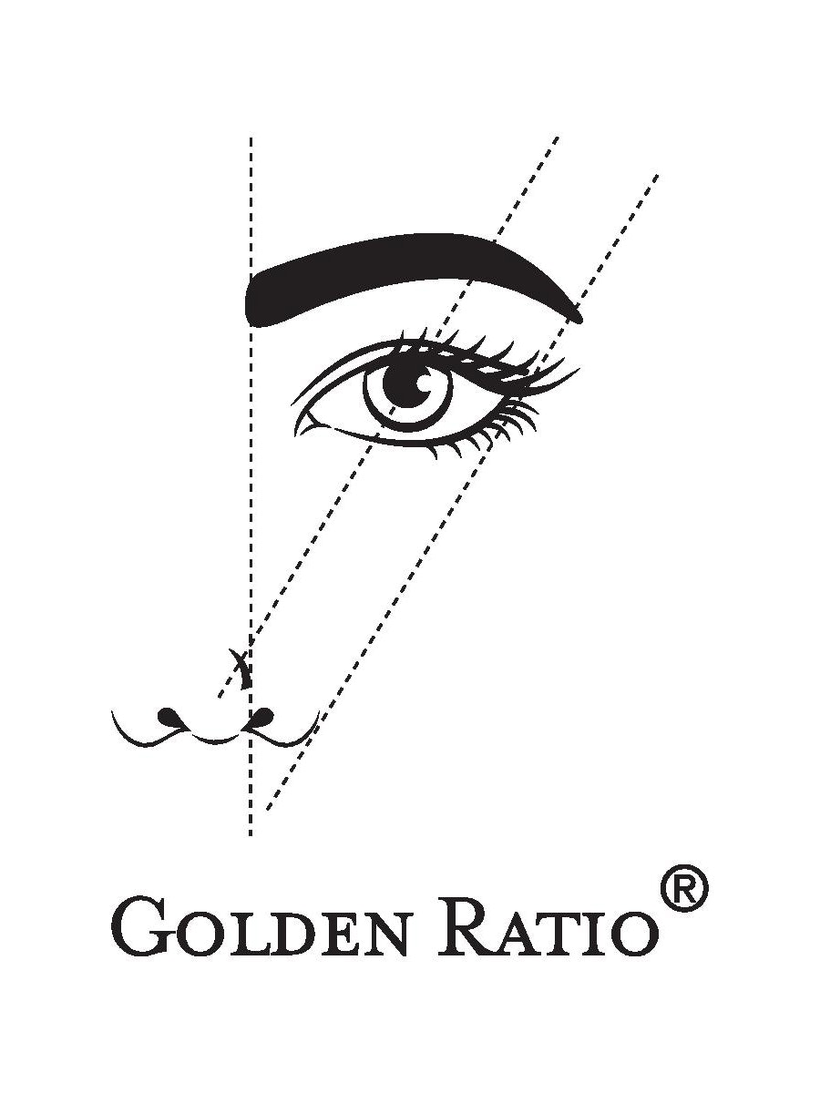 Golden ratio illustration