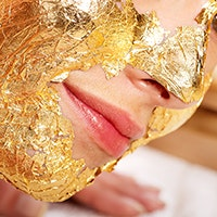 I Had Real 24-Karat Gold Applied to My Face In the Name of Clearer, More Radiant Skin