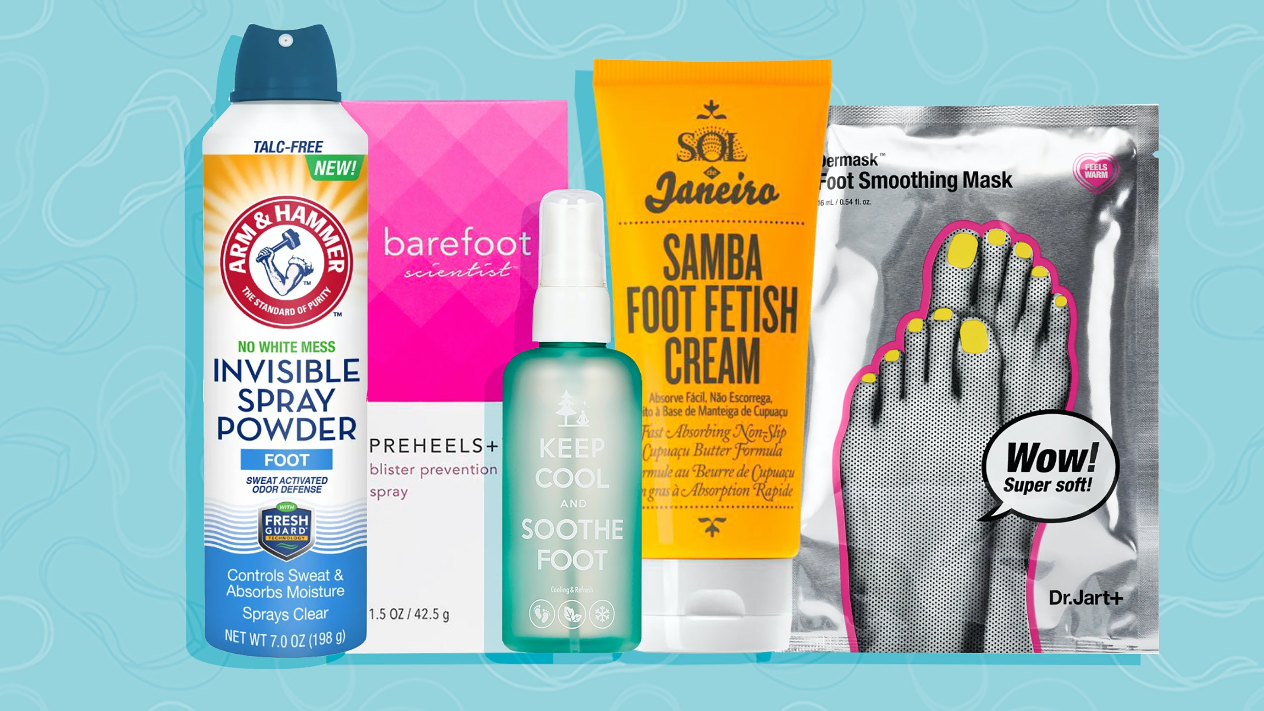 Spotlyte 7: Foot Products for Summer