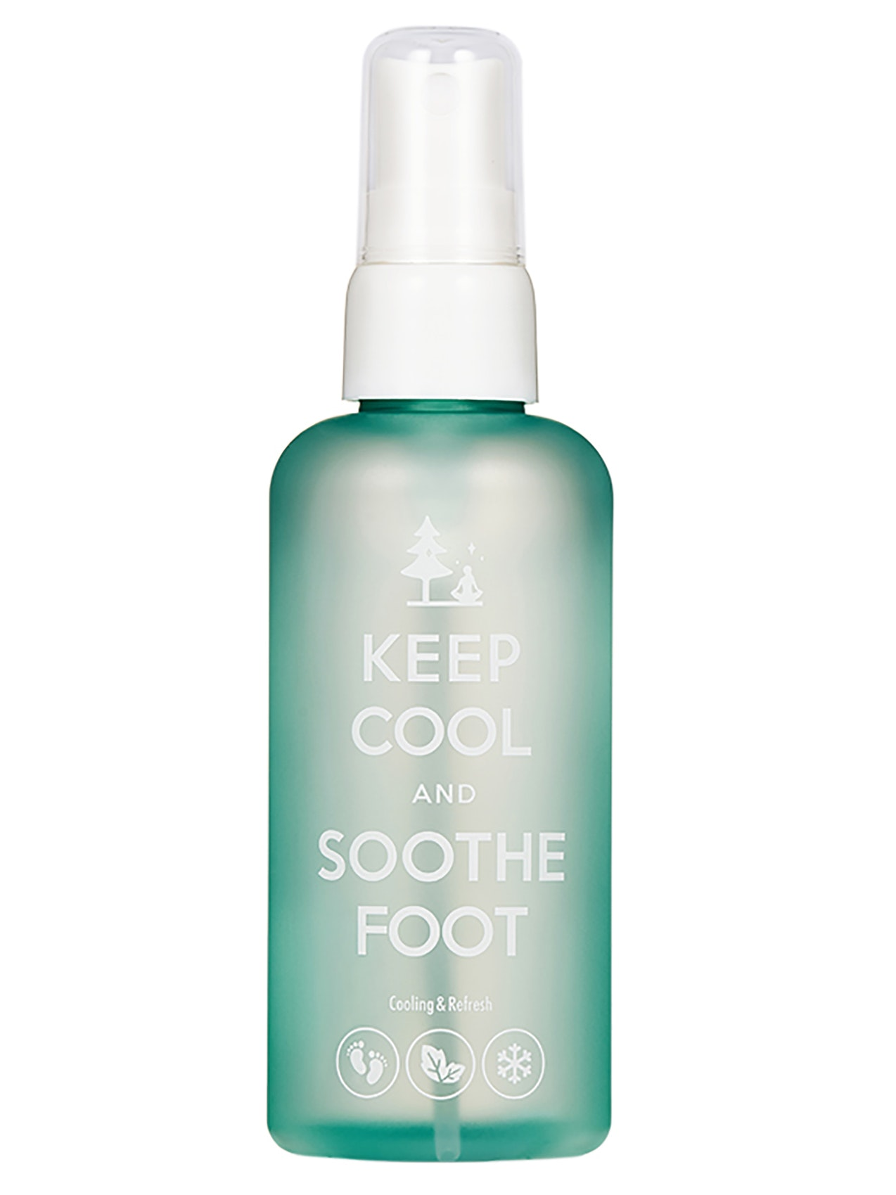 Keep Cool and Soothe Foot Cooling Spray