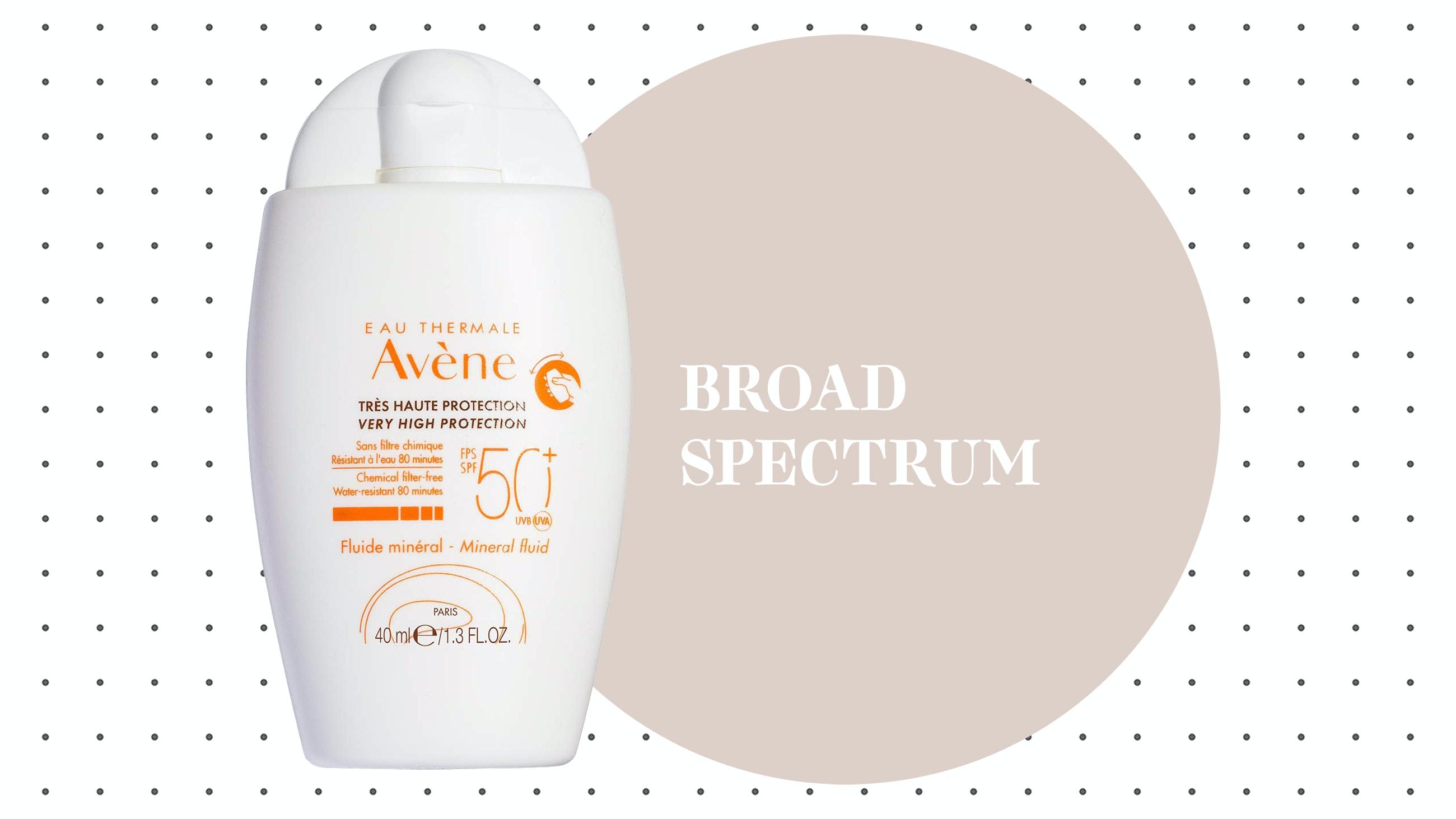 Eau Thermale Avène Mineral Sunscreen Fluid SPF 50+