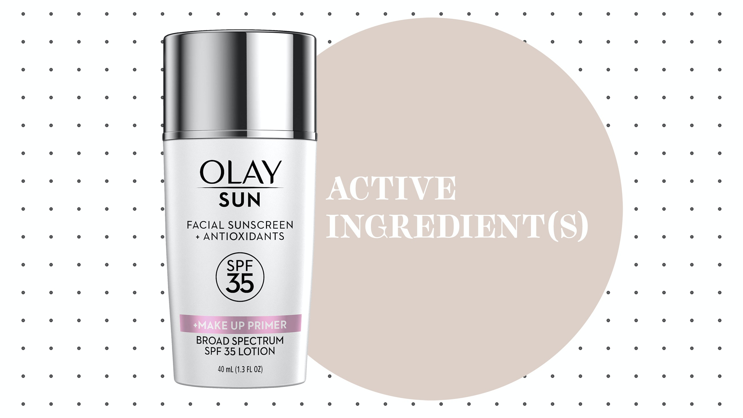 Olay Sun Facial Sunscreen + Antioxidants SPF 35