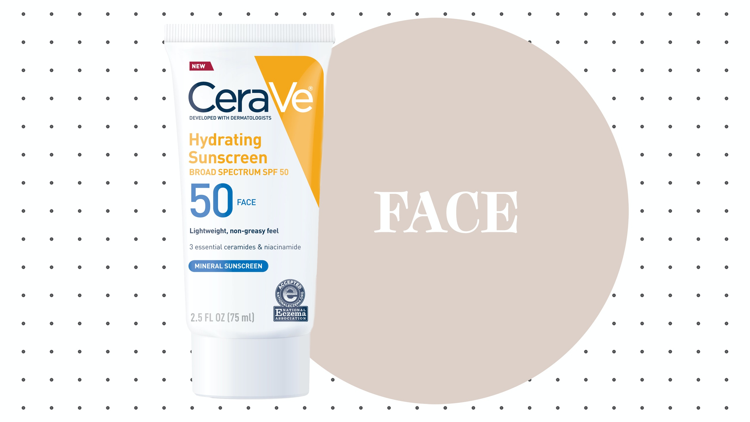 CeraVe Hydrating Sunscreen 50 Face