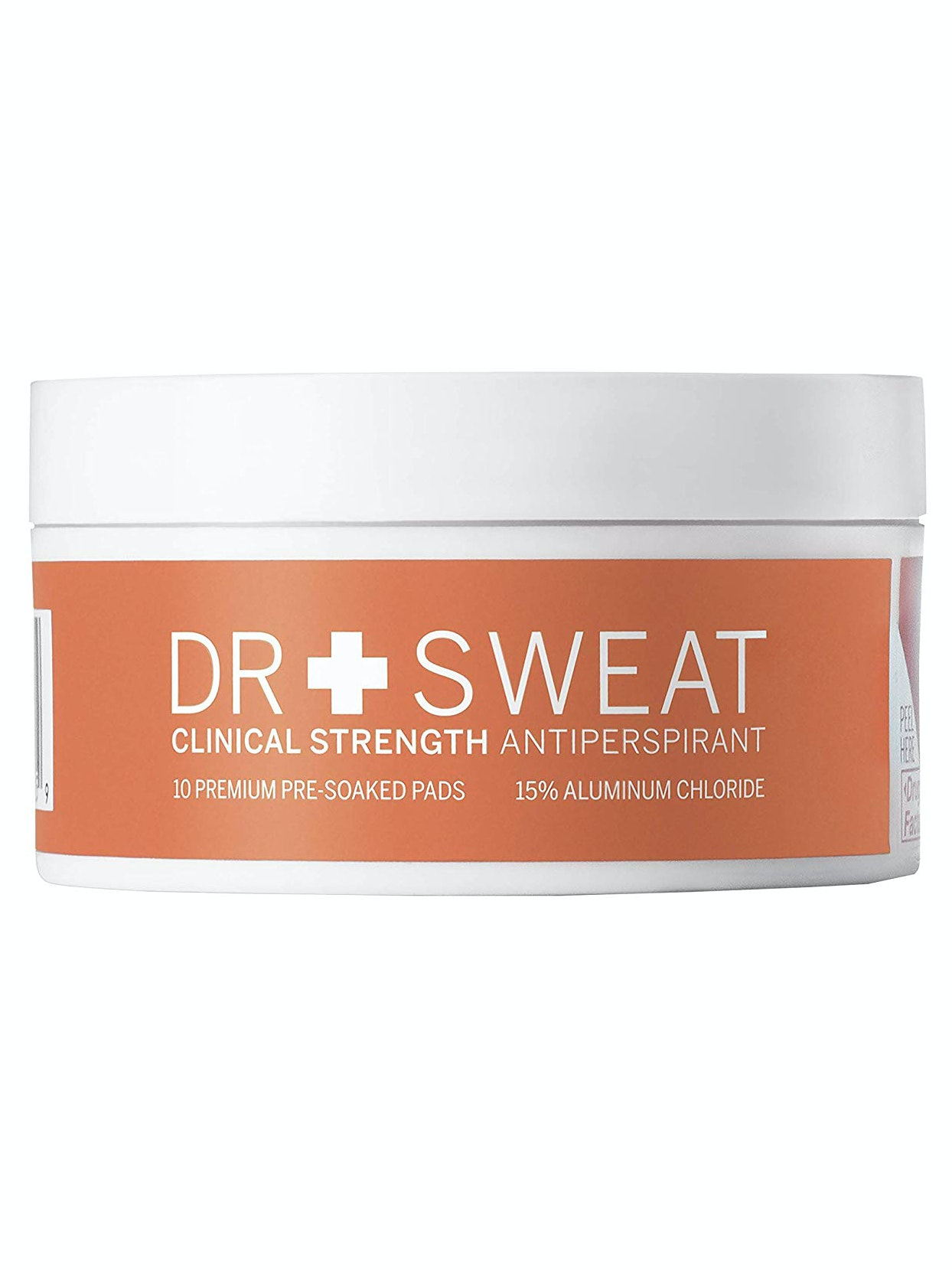 Dr. Sweat Clinical Strength Antiperspirant pads