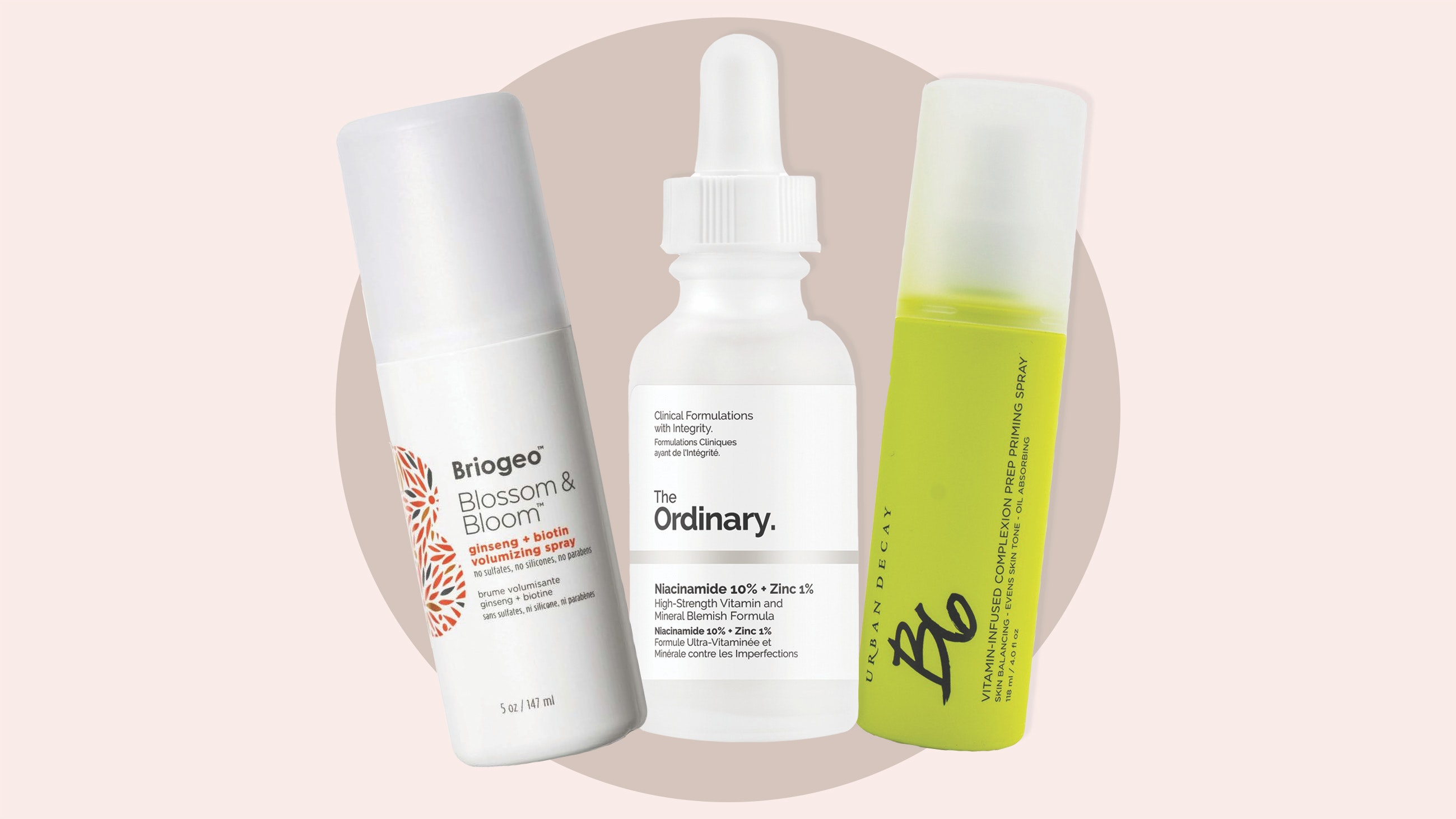Vitamin B skincare products