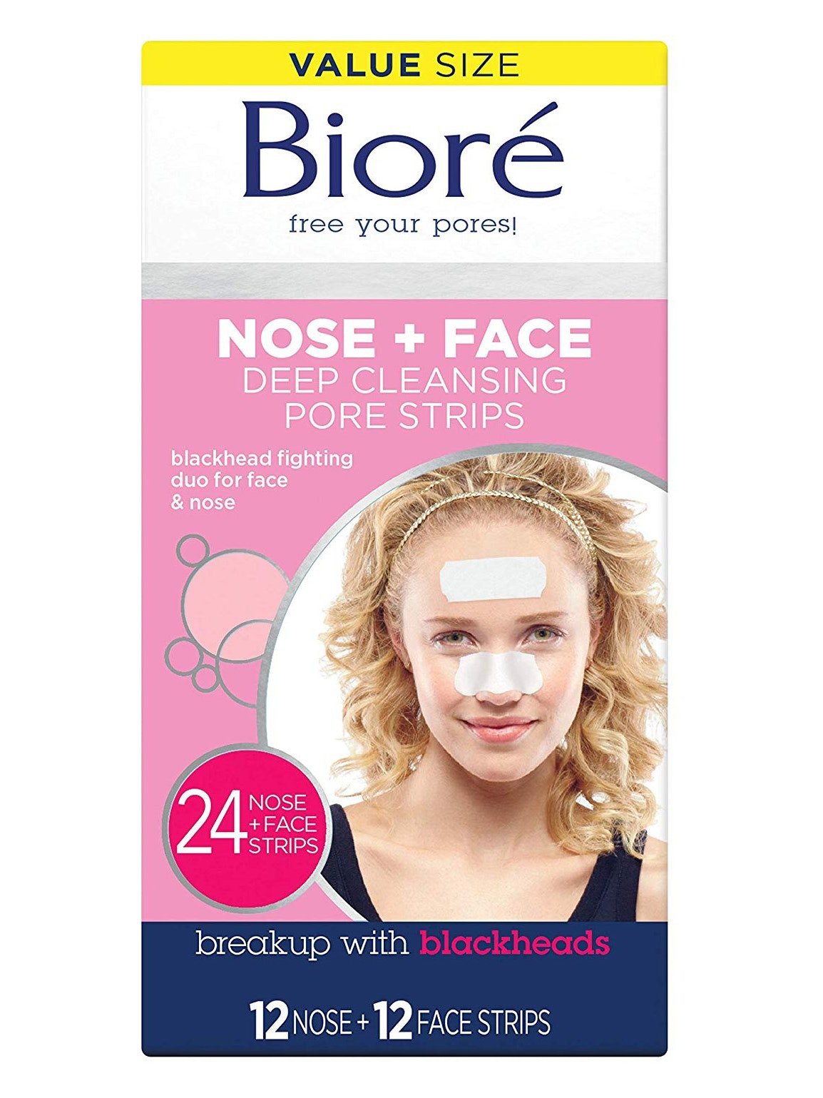 Bioré pore strips