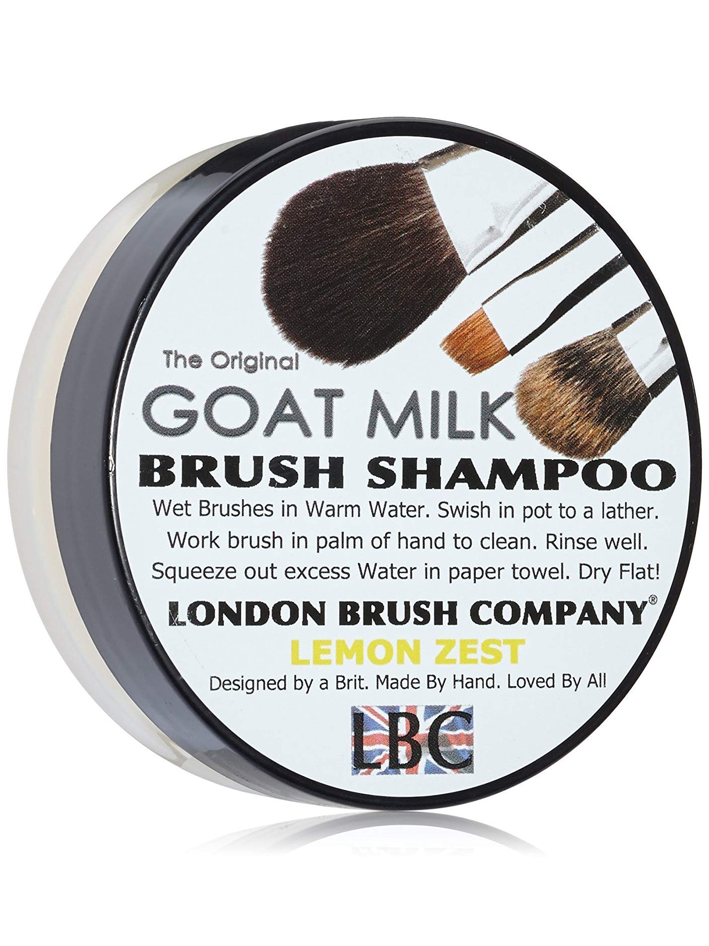 London Brush Company Goat Milk Brush Shampoo