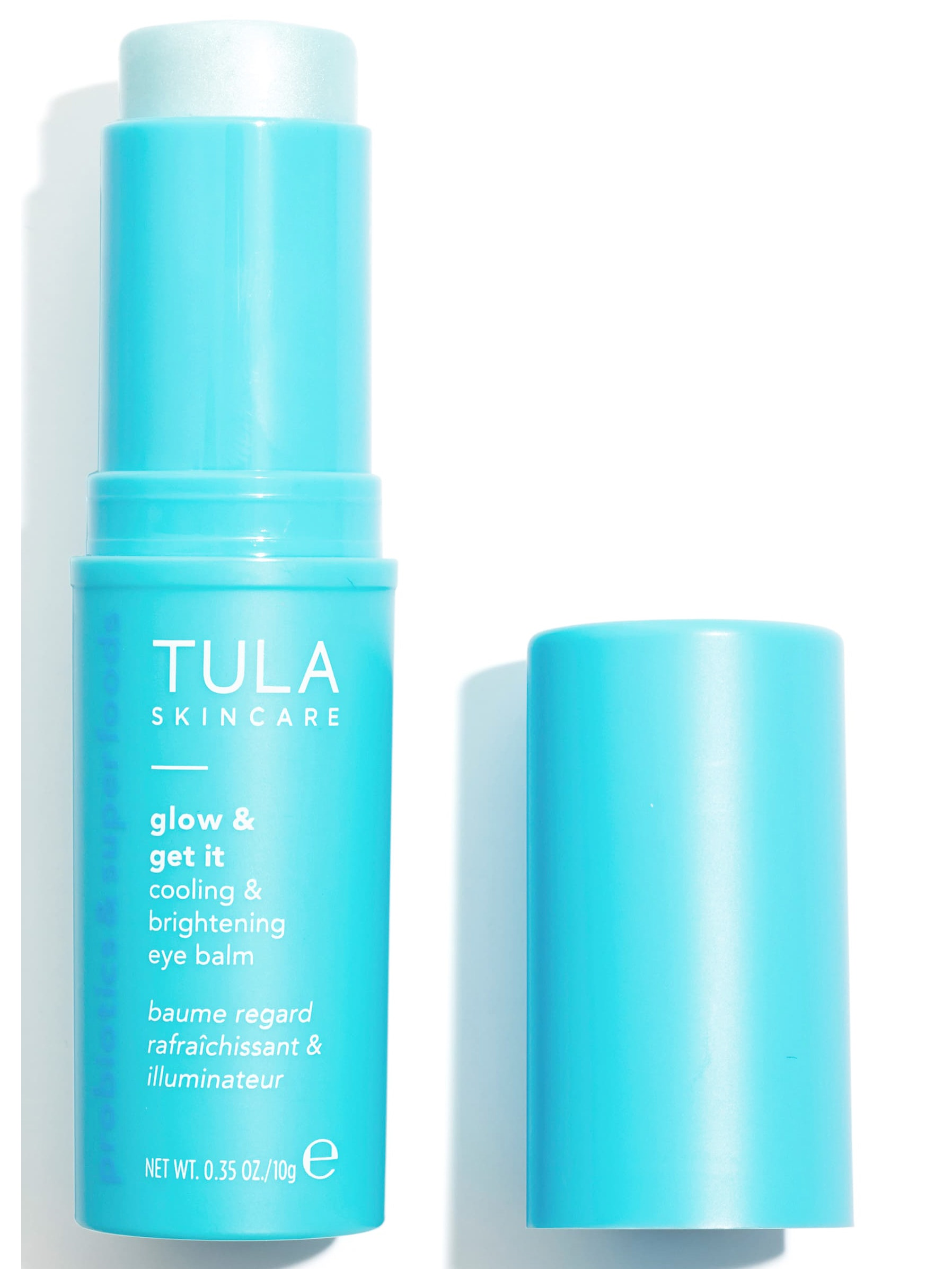 Tula Rose Glow and Get it Cooling Brightening Eye Balm