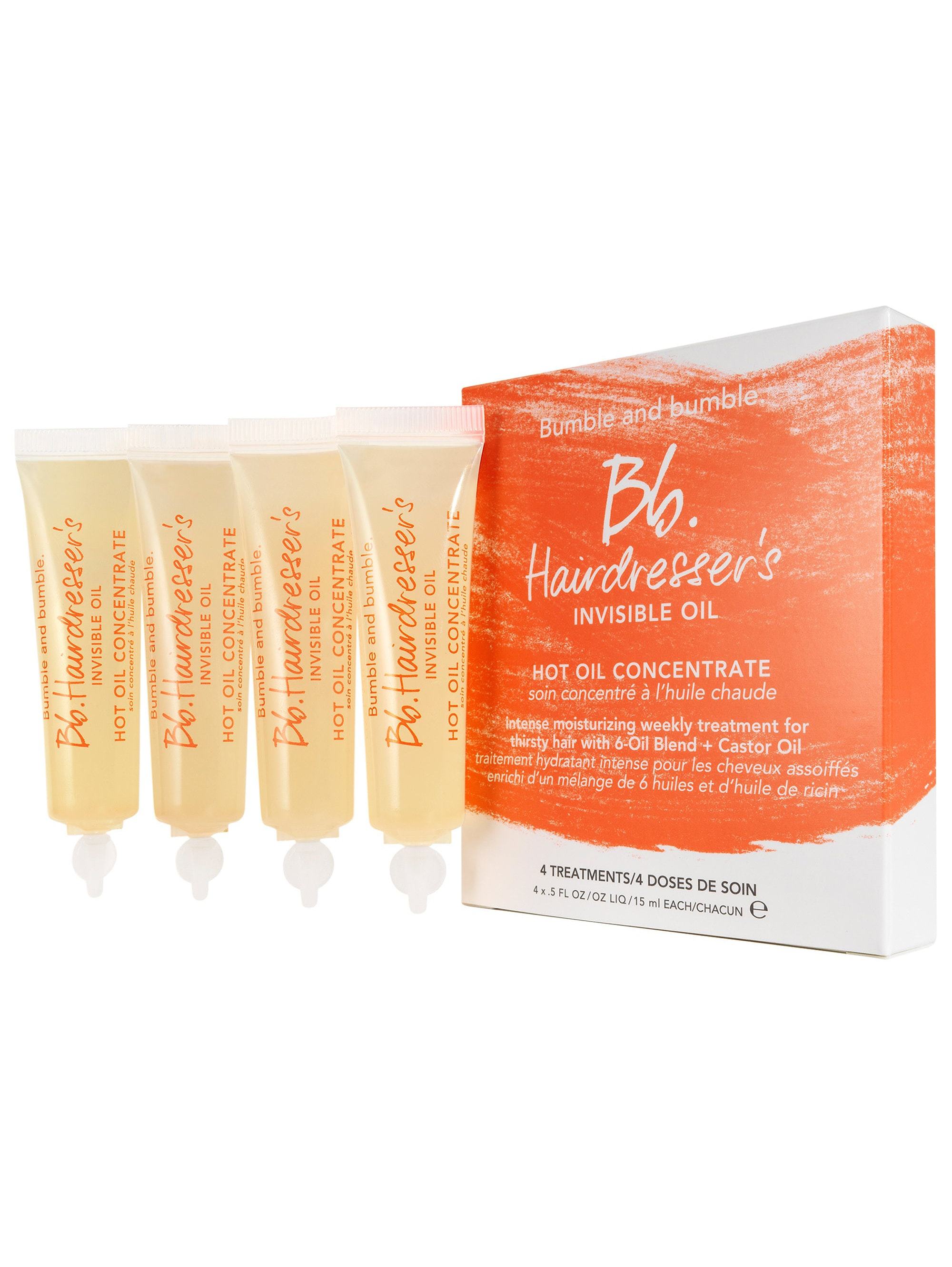 Bumble and bumble. Bb. Hairdresser's Invisible Oil Hot Oil Concentrate