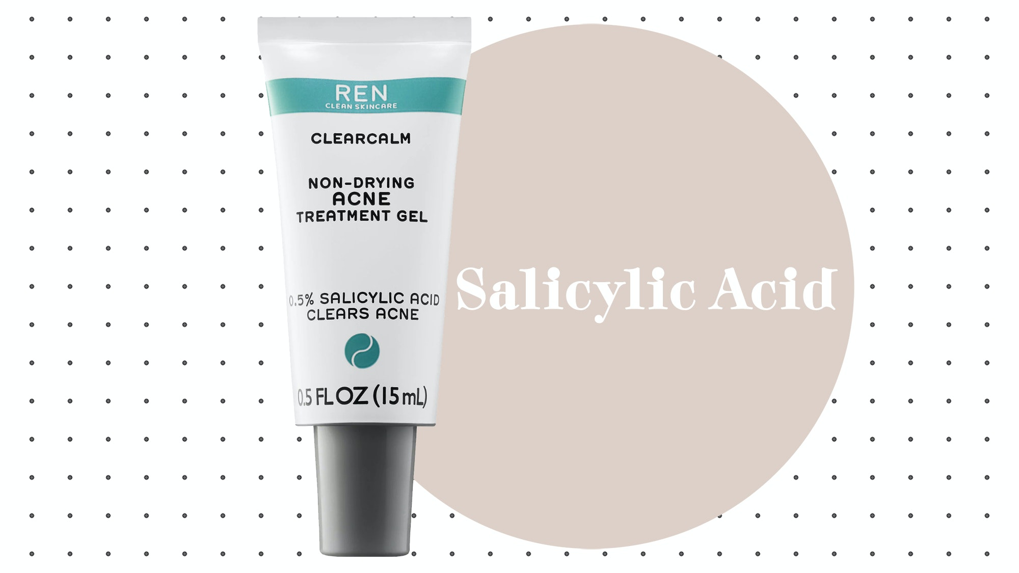 Ren ClearCalm Non-Drying Acne Treatment Gel