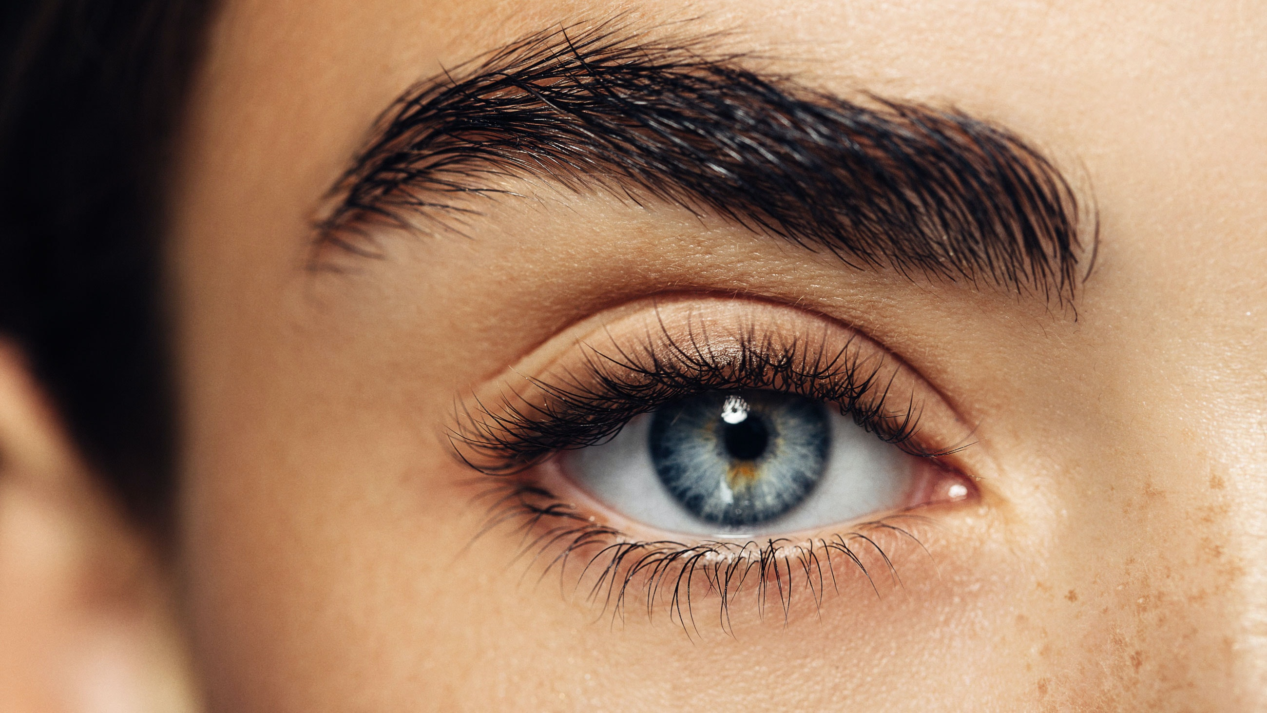 Closeup photo of a woman's eye
