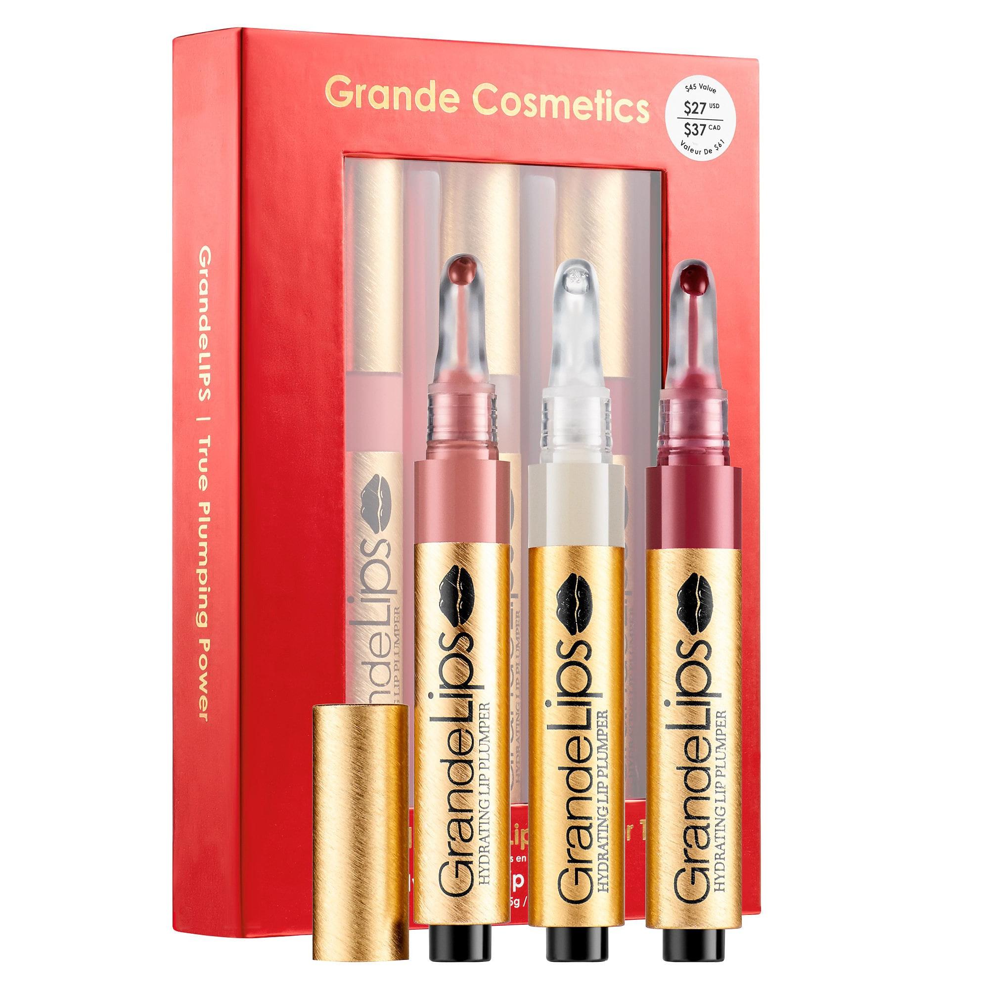Grande Cosmetics GrandeLips® Limited Edition Lip Plumper Trio