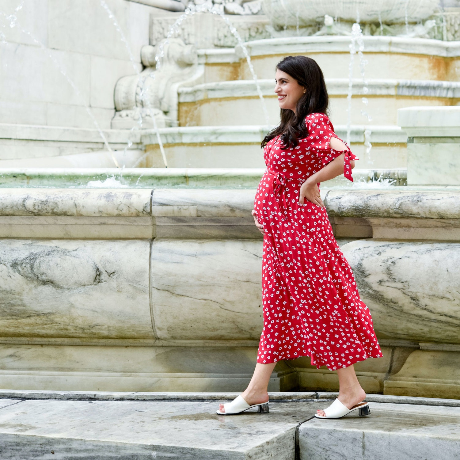 Our Editorial Director's Ultimate Guide to Her Pregnancy Beauty Routine