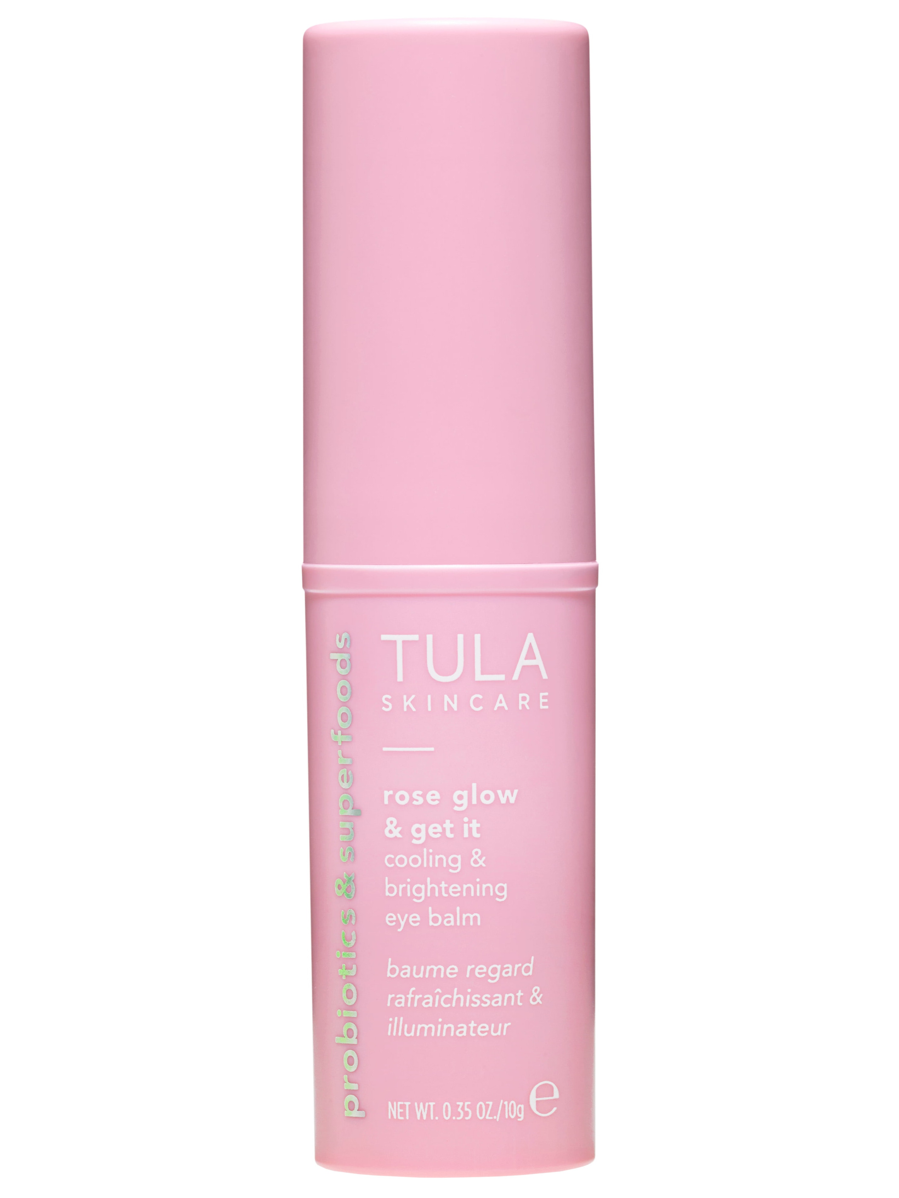 Tula Rose Glow and Get It Cooling and Brightening Eye Balm