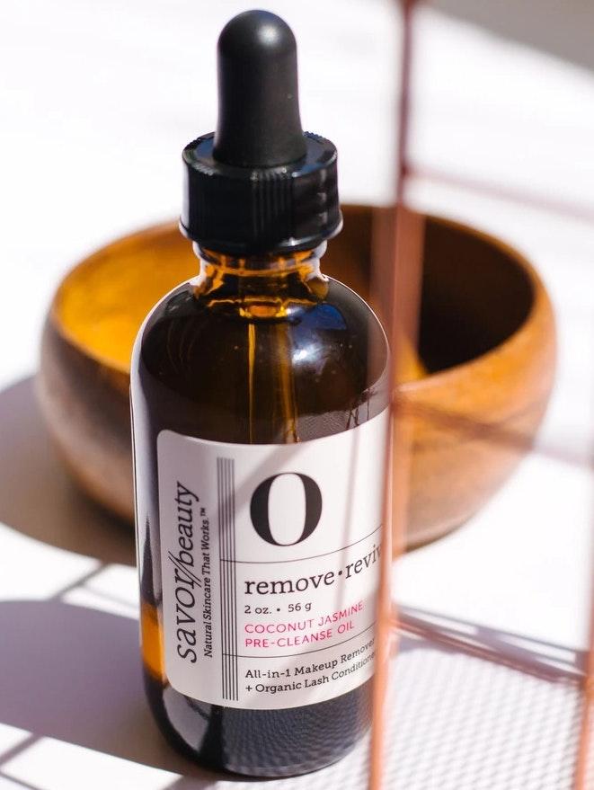 Savor Beauty Coconut-Jasmine Pre-Cleanse Oil
