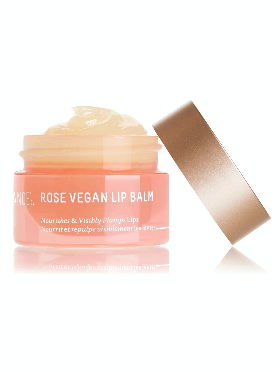 Biossance Squalane + Rose Vegan Lip Balm